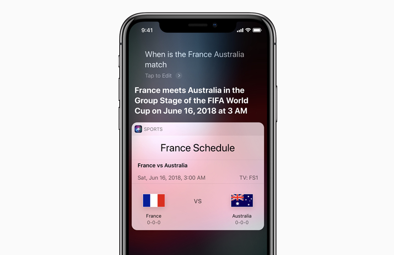 Apple goes all out for 2018 FIFA World Cup w/ Siri support