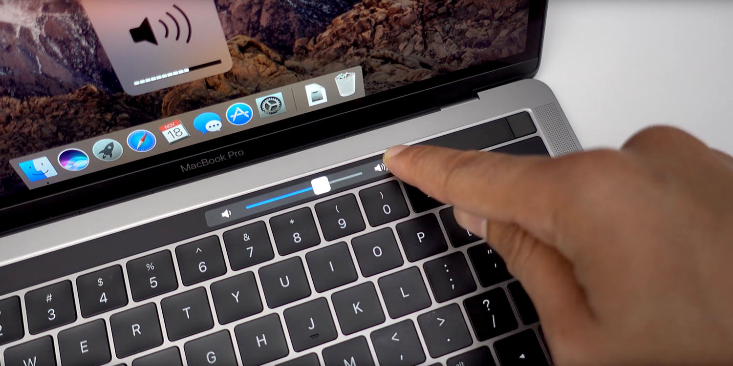 Comment: The Touch Bar hasn't really taken off, perhaps it