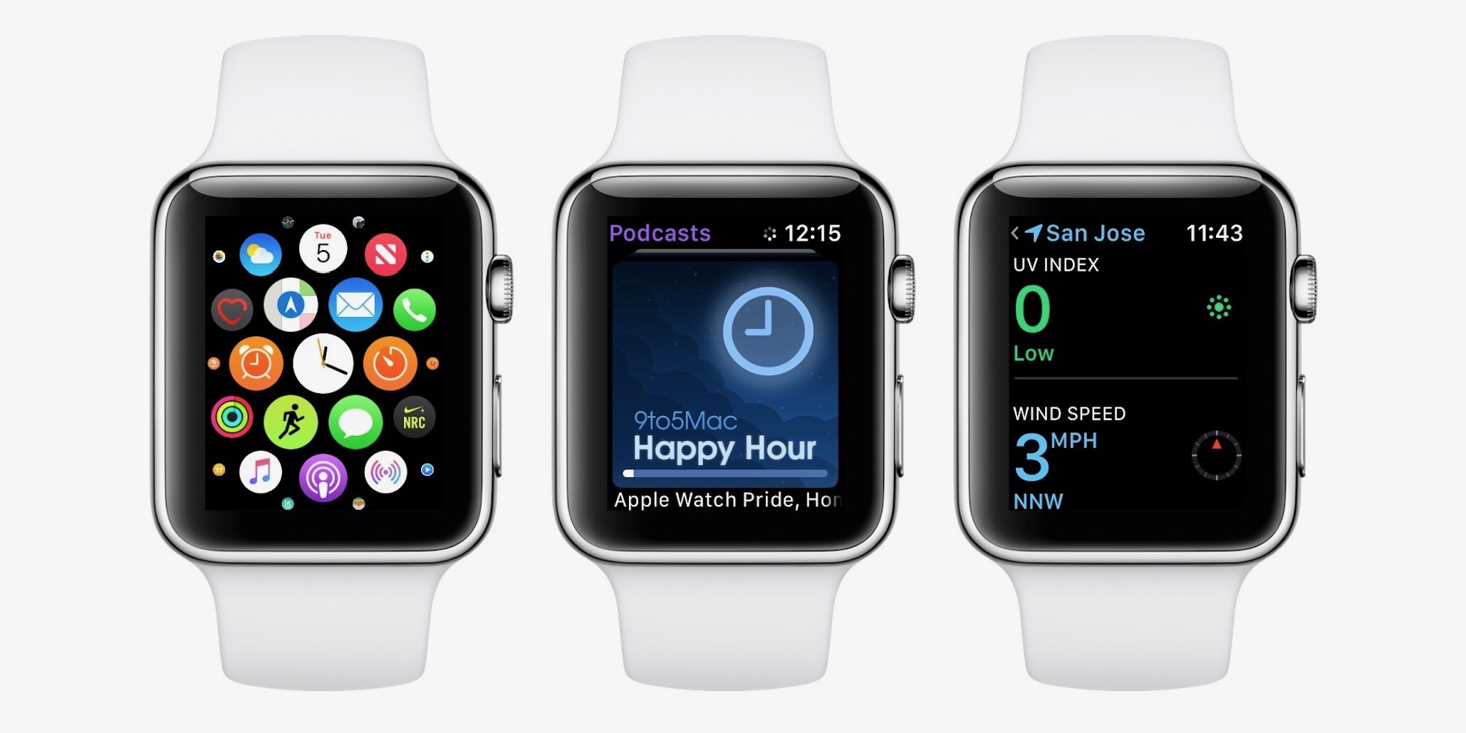 watchOS 5: Podcasts, Siri face, custom Control Center, more