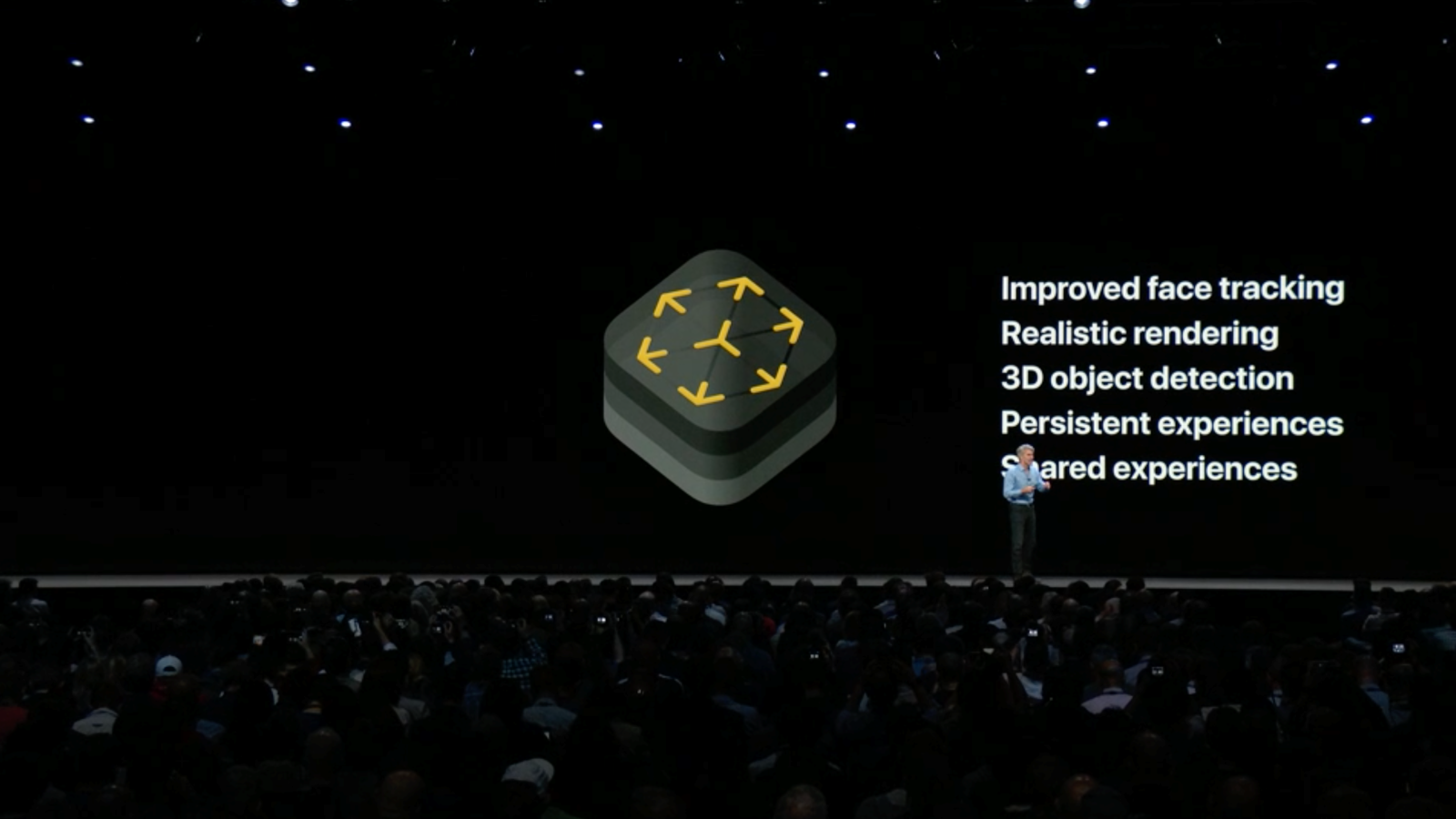 Apple introduces ARKit 2.0 with shared experiences, face tracking improvements, more