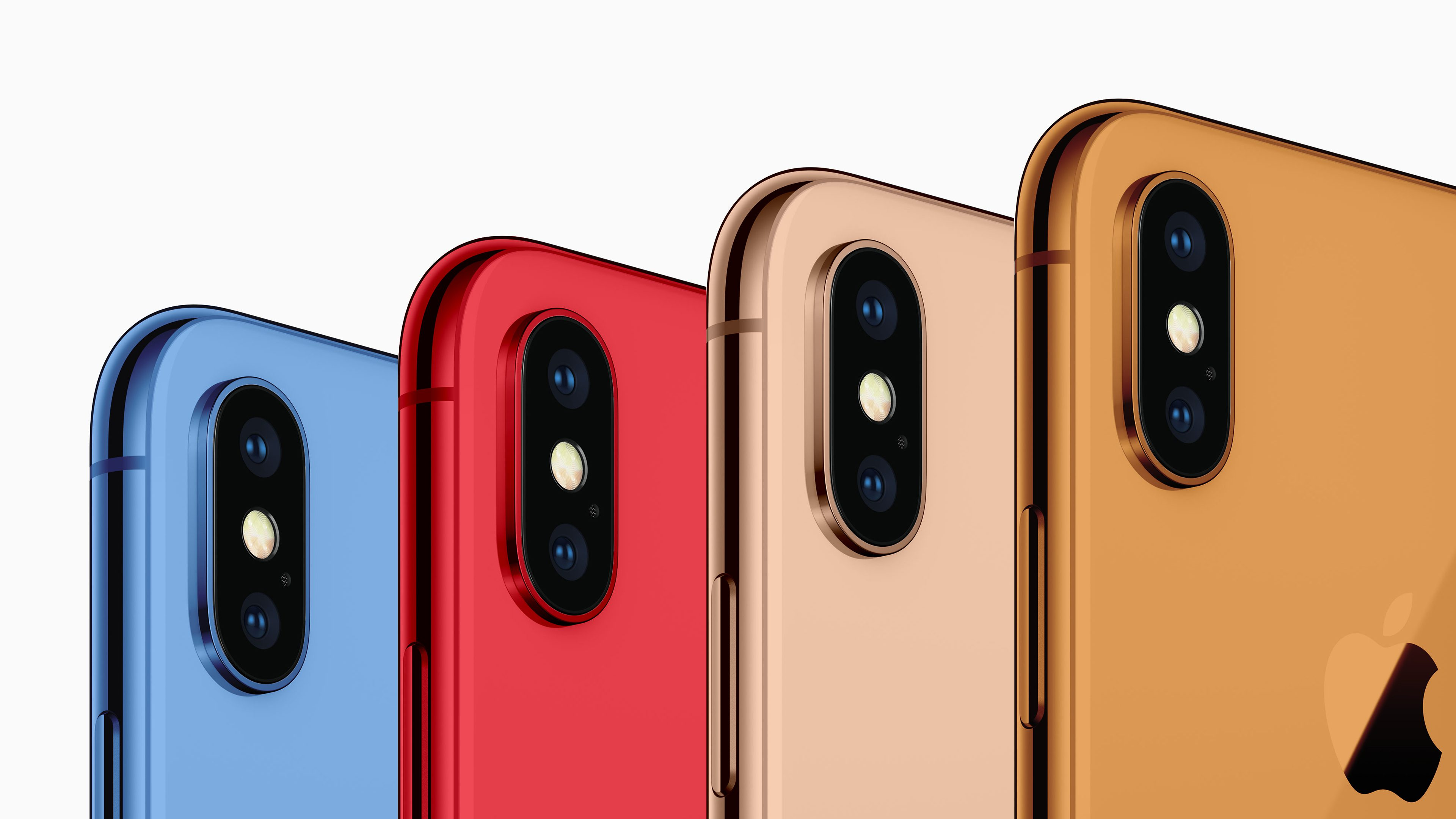 New report says 6.1-inch 2018 iPhone to come in white, black, yellow, orange, blue, more – but no red