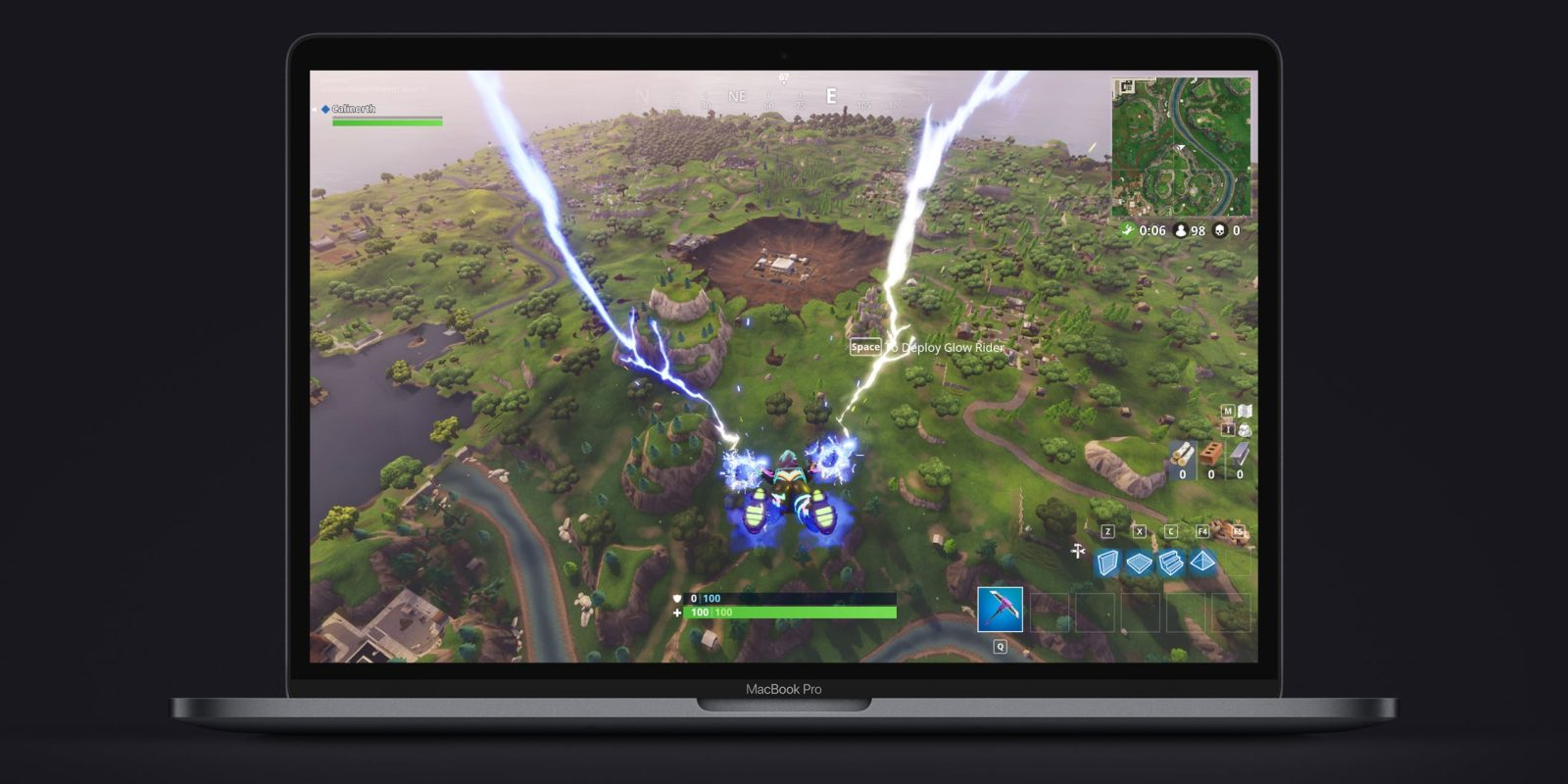 how to download fortnite on apple computer