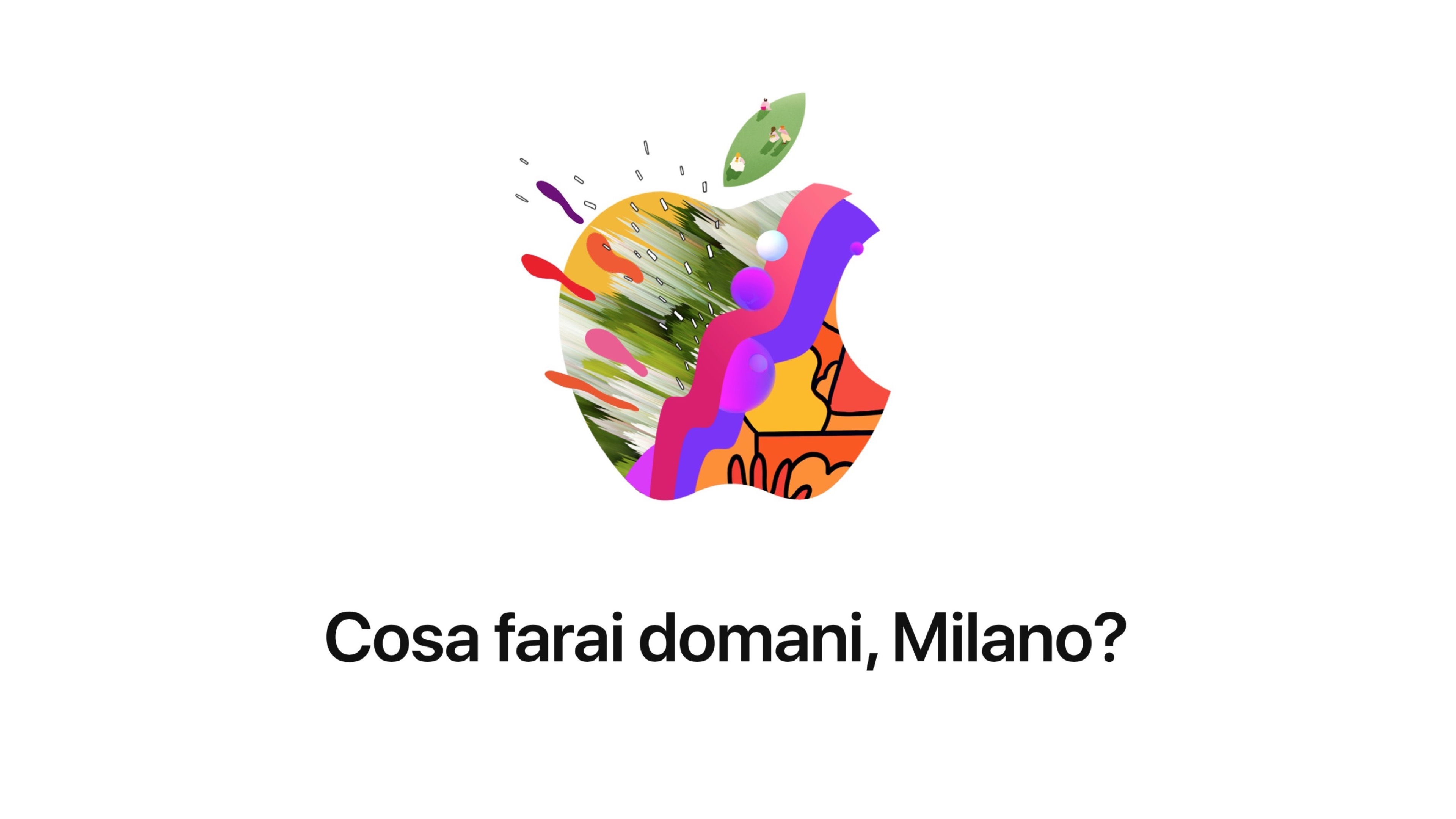 apple highlights work from 21 artists to promote new piazza liberty retail store