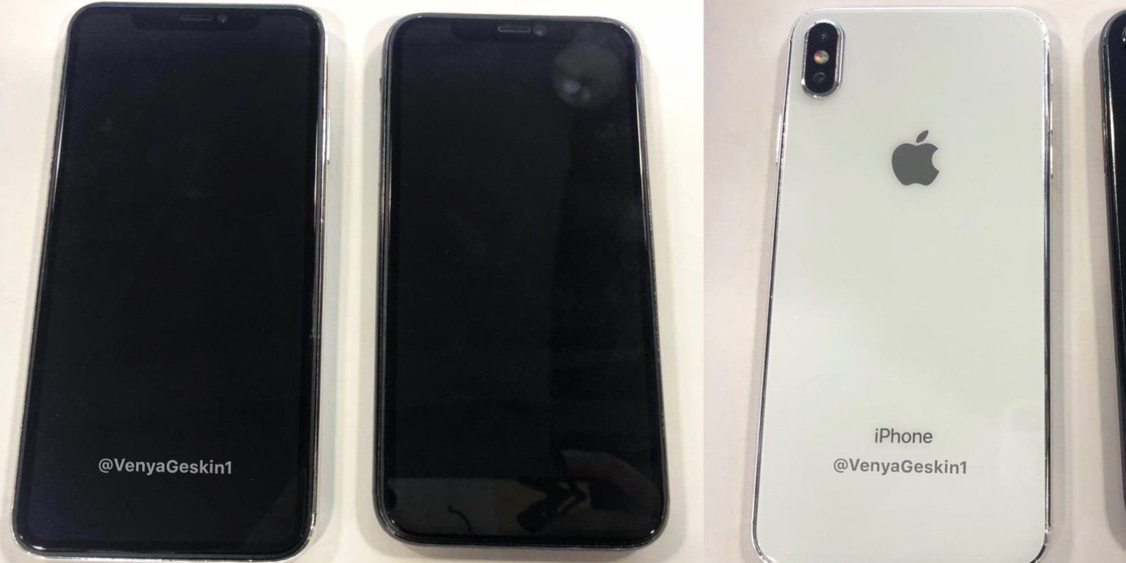 new product ffda9 96bee Leaked images claim to show iPhone X Plus & 6.1-inch LCD iPhone ...