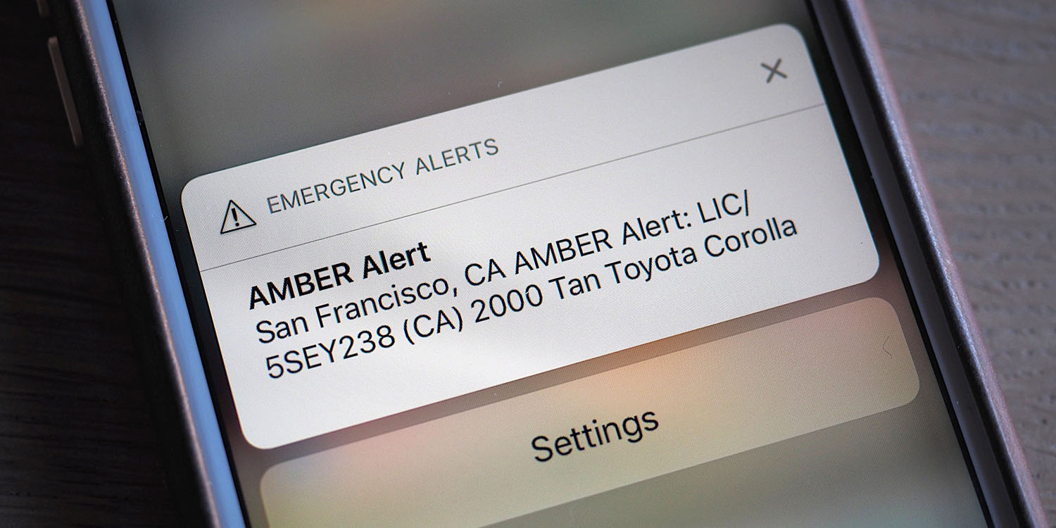 How to turn off government alerts on iPhone