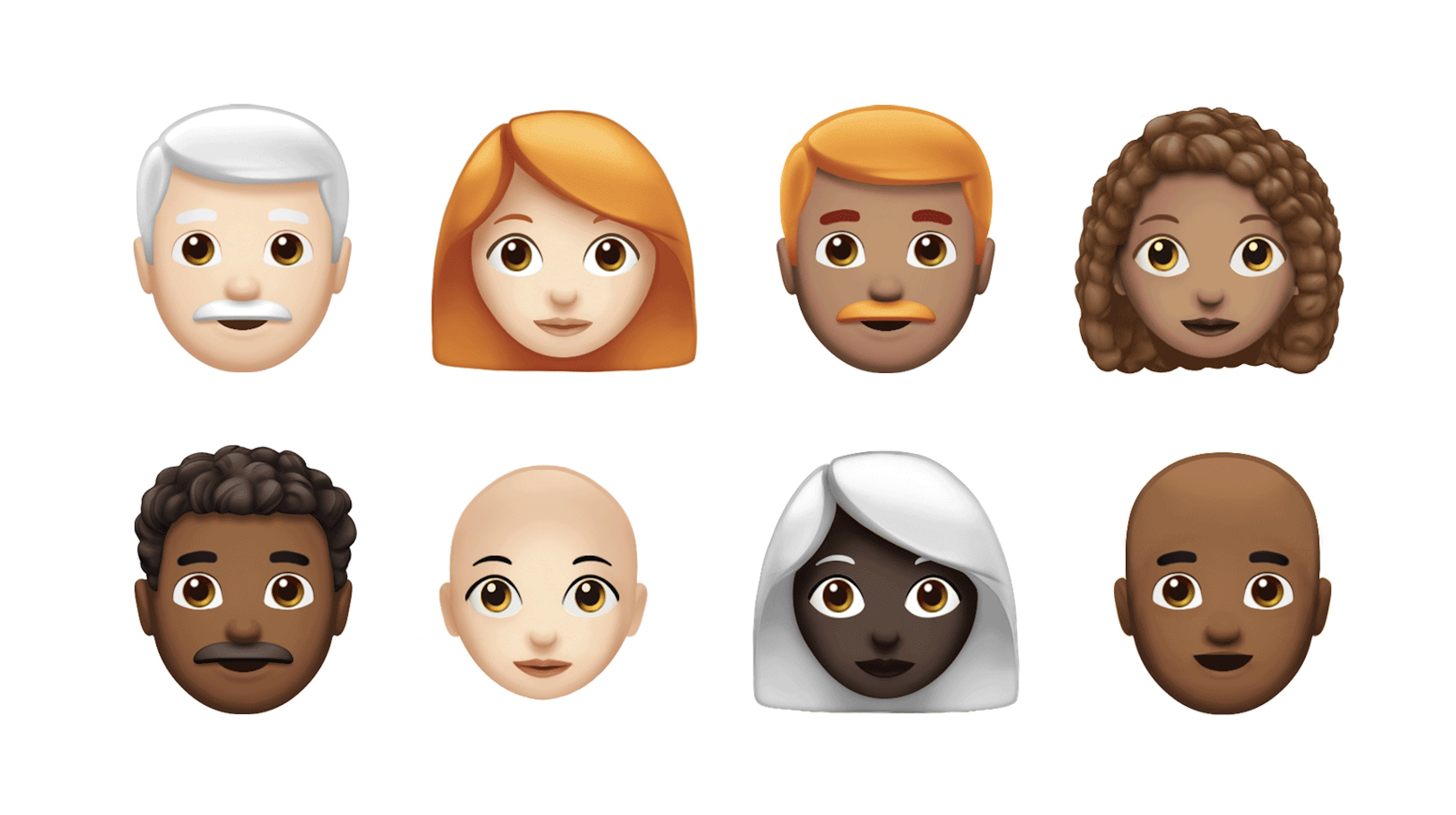 Apple teases out over 70 new Emoji coming to iOS and Mac this fall including red hair, super heroes, and lobsters