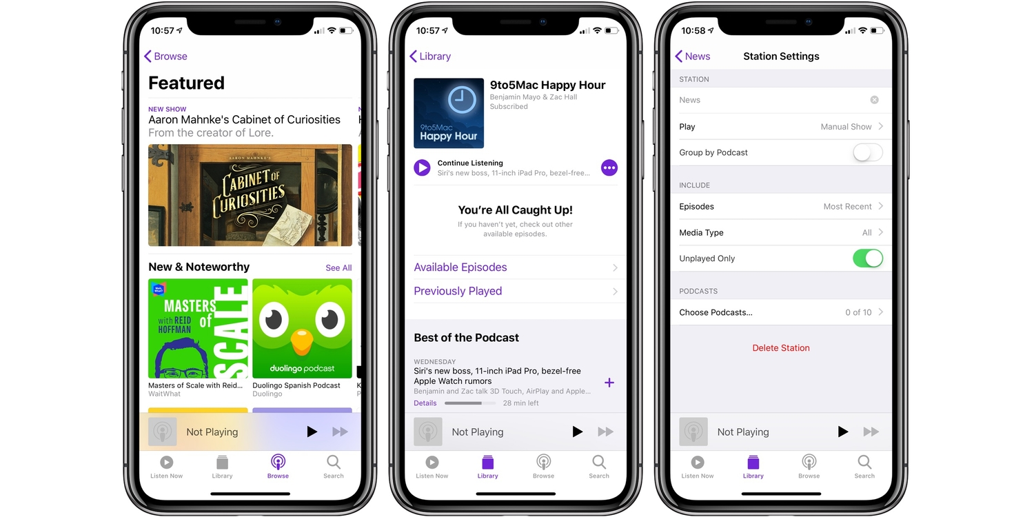 best podcast app iphone what s the best podcast app for iphone 9to5mac 9283