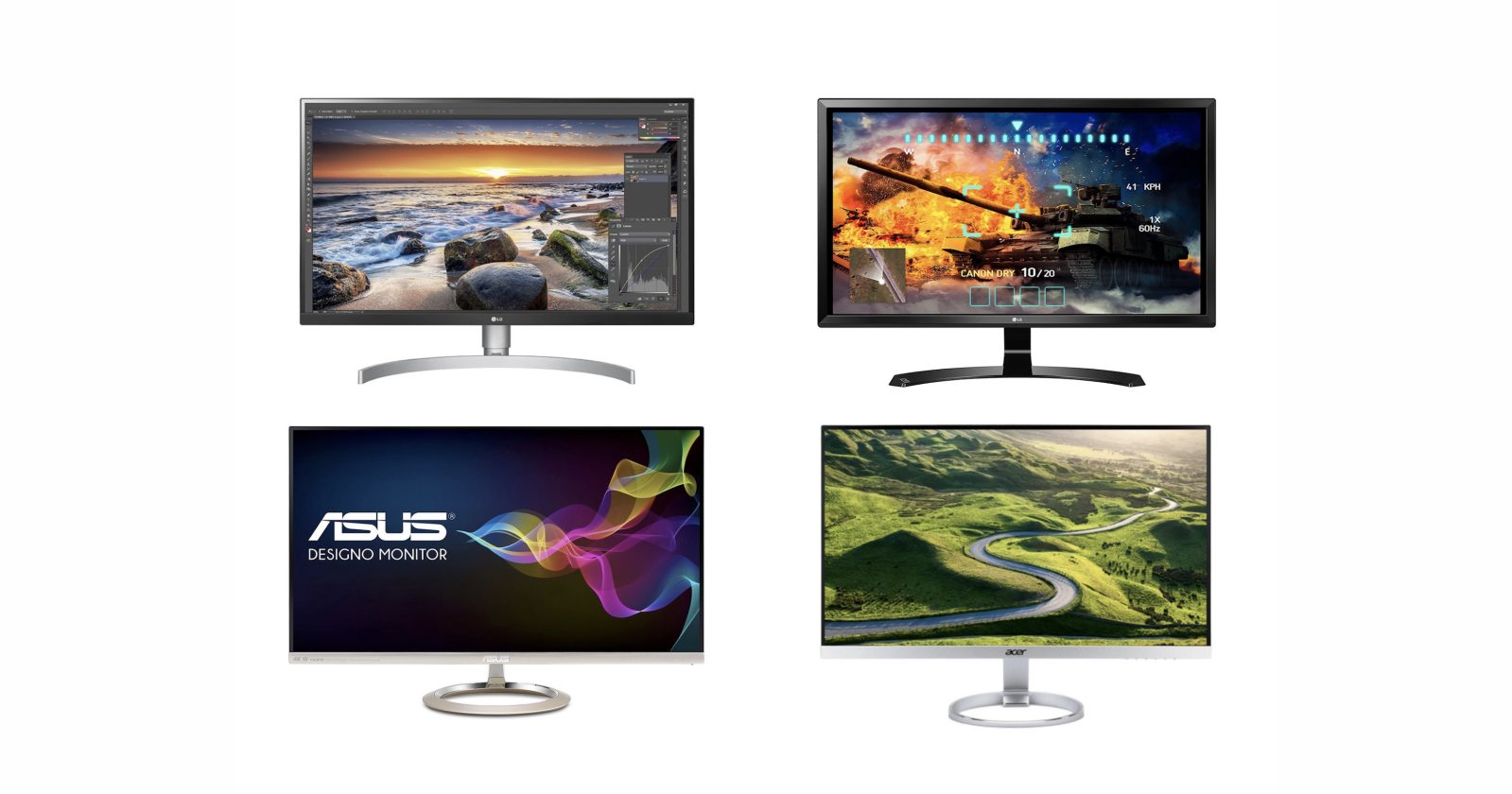 Update: New LG and Samsung options] Best 4K and USB-C displays for