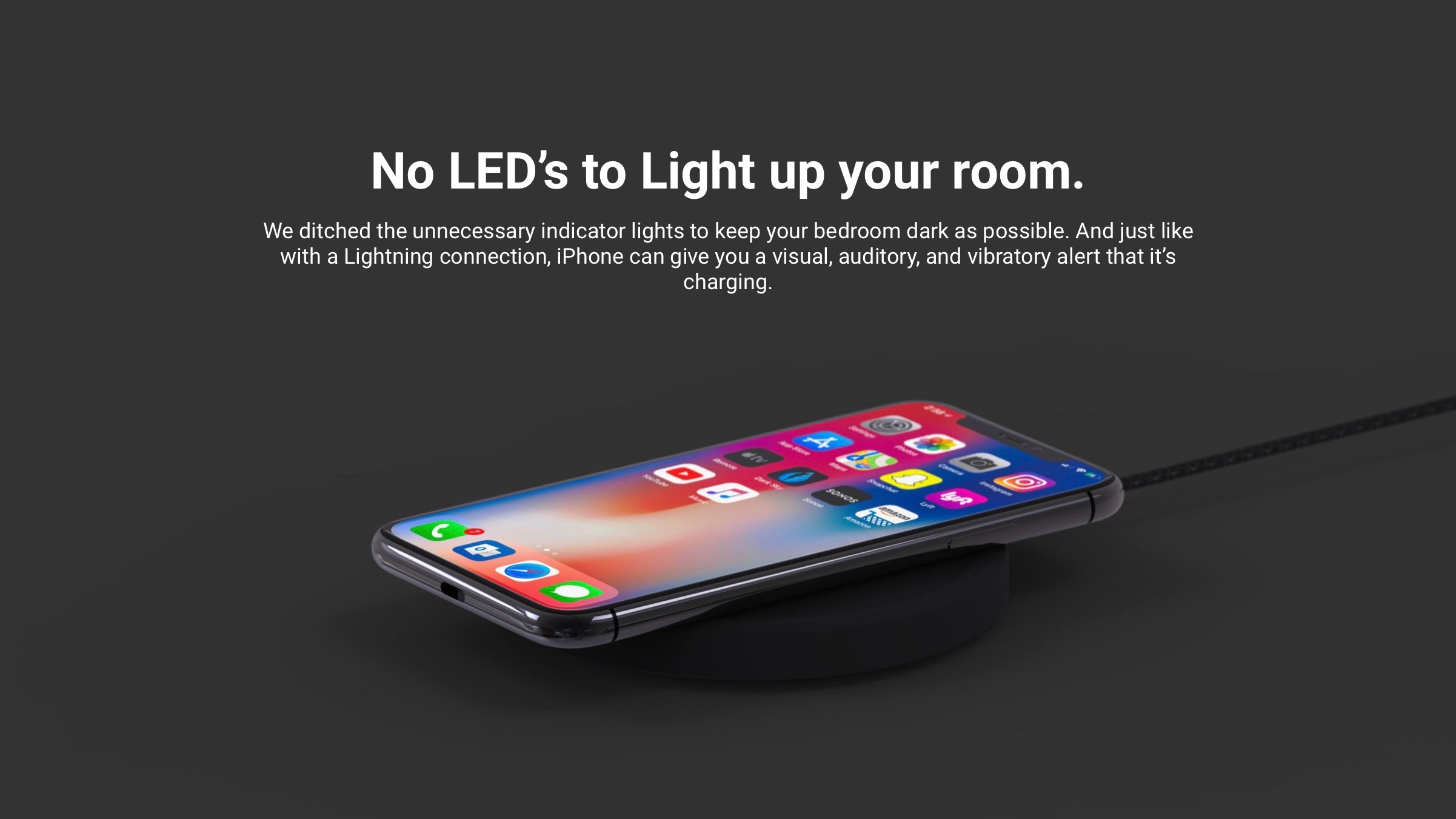 elevationlab launches nightpad wireless iphone charger with zero leds 25 off exclusive deal