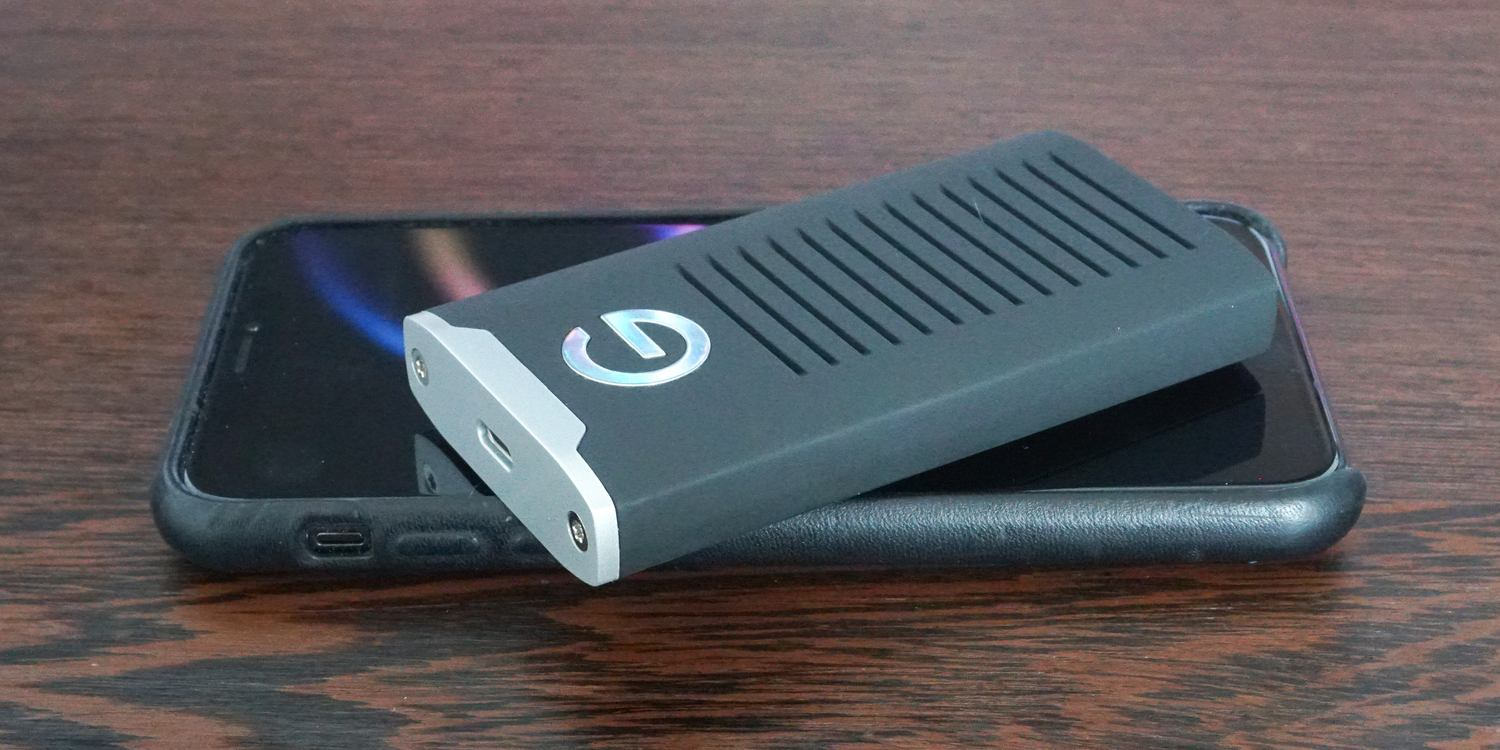 Review: G-Technology's R-Series is an affordable, super-rugged USB-C portable SSD