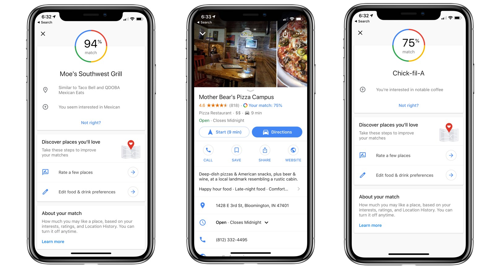 Google Maps for iOS predicts which restaurants you will like ... on holiday marketing advertising, parts store advertising, red book advertising, bulk email advertising, fb advertising, 7 eleven advertising, ebook advertising, blu advertising, sony advertising, instagram advertising, quickbooks advertising, wechat advertising, sea monkey advertising, technicolor advertising, surface pro advertising, coca-cola advertising, streeteasy advertising, avaya advertising,