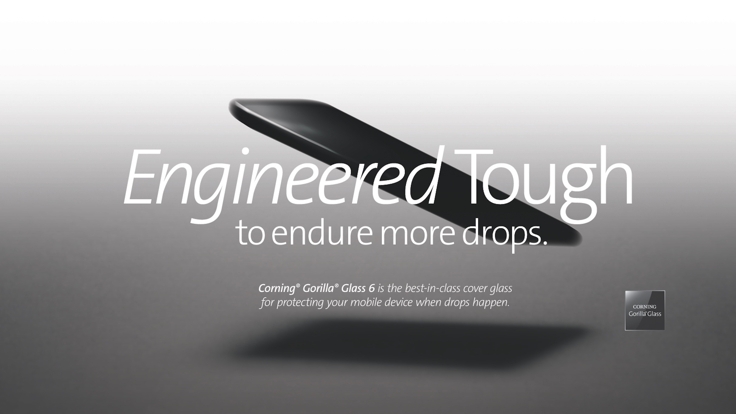corning unveils next gen super durable gorilla glass 6 withstands 15 consecutive 1 meter drops