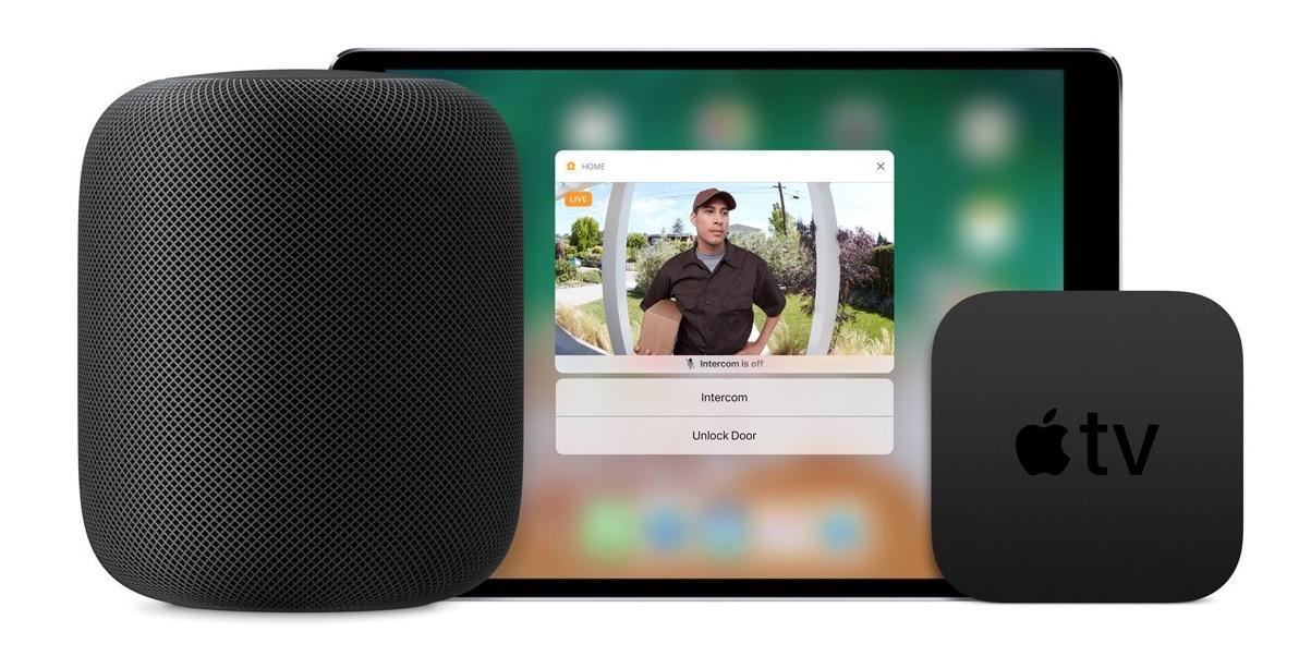 HomePod HomeKit Doorbell camera iPad Apple TV