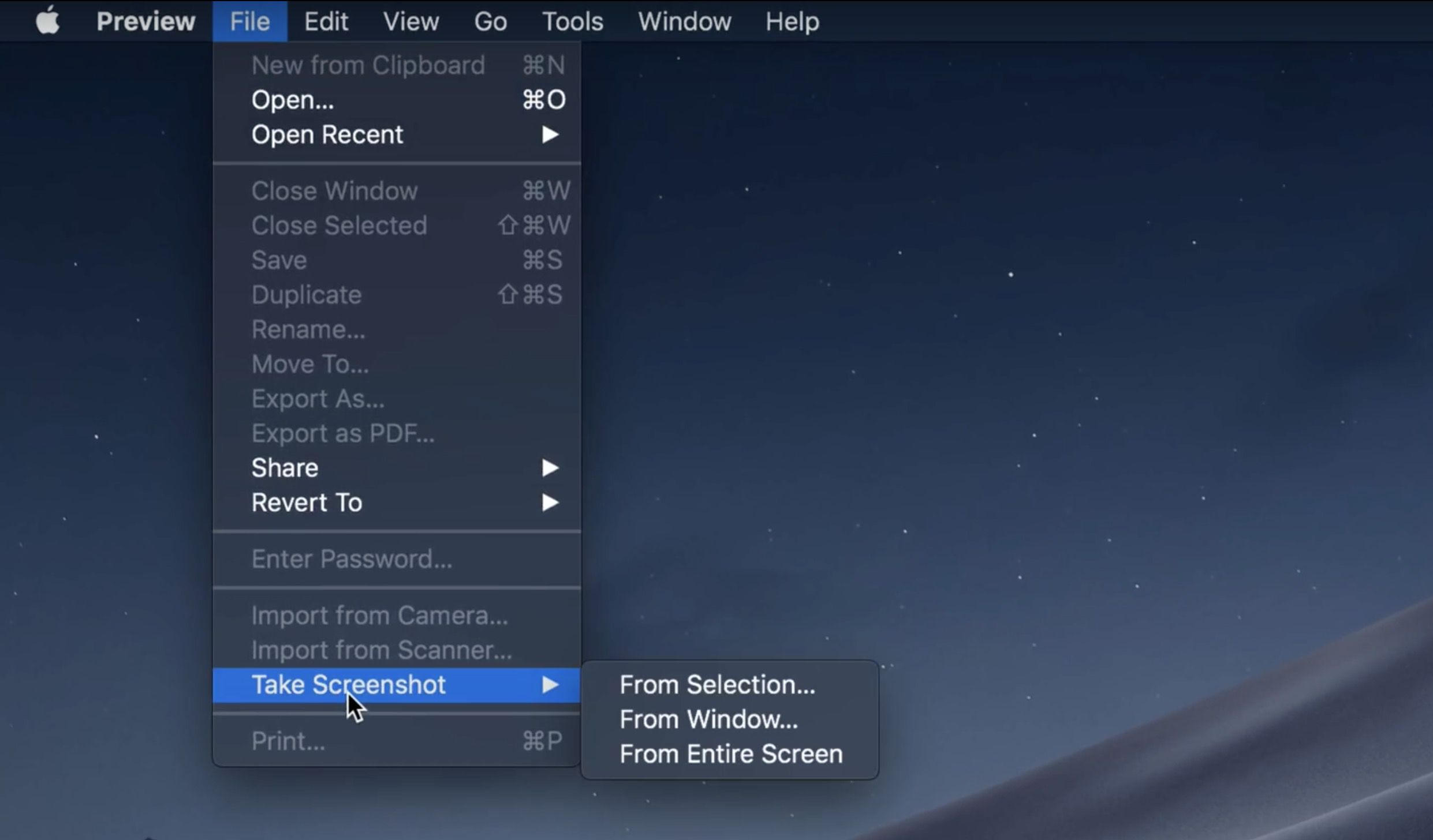macOS Mojave: How to use new screenshot and screencast tools without