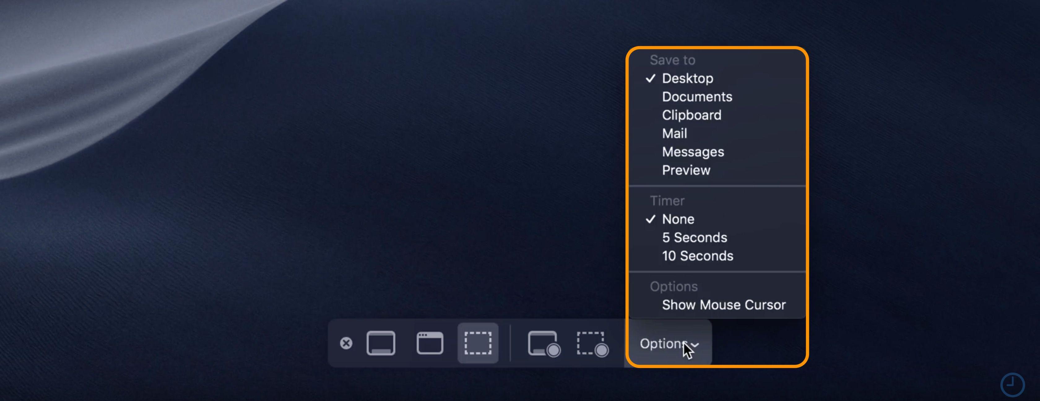macOS Mojave: How to use new screenshot and screencast tools