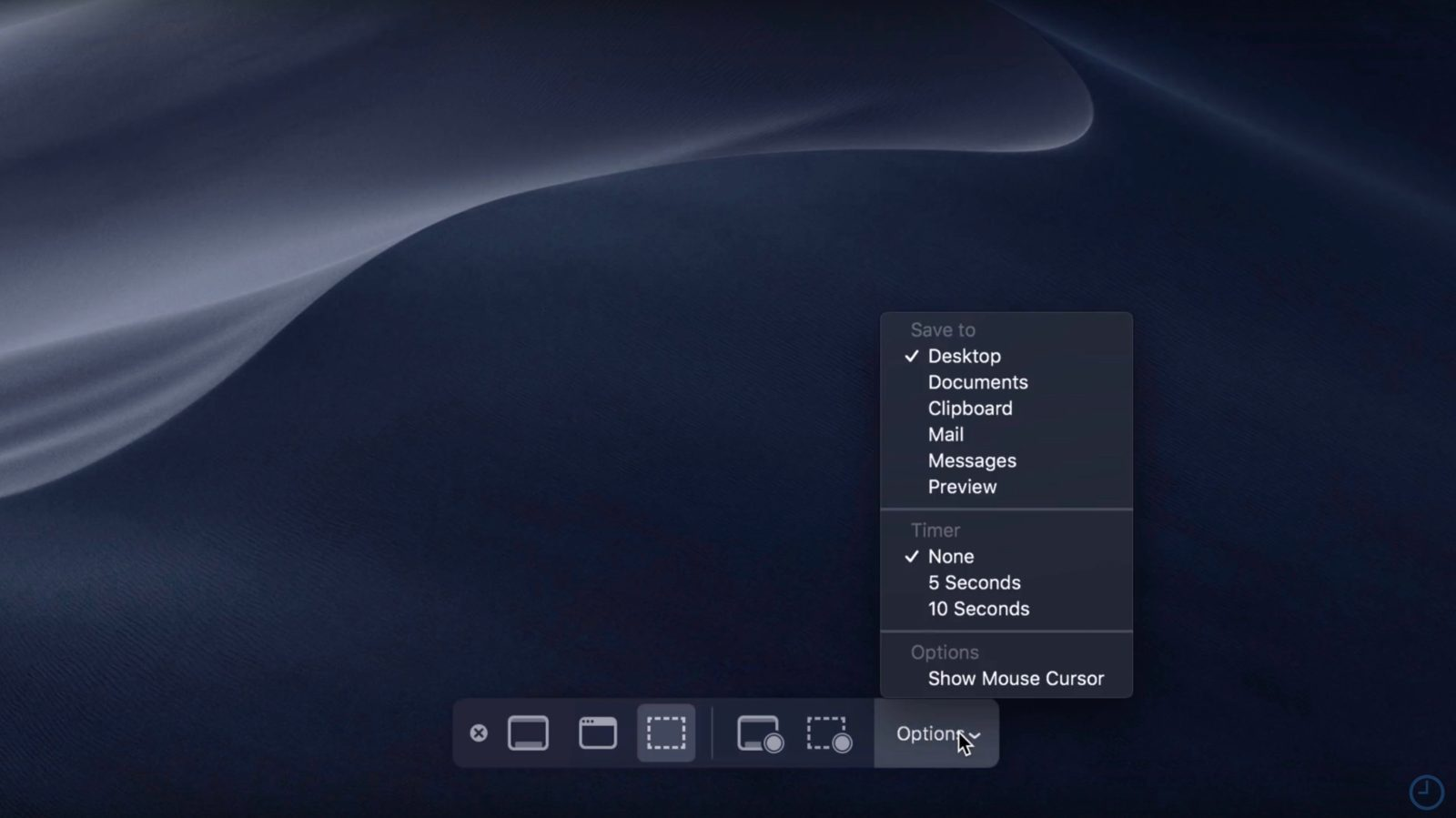macOS Mojave: How to use new screenshot and screencast tools