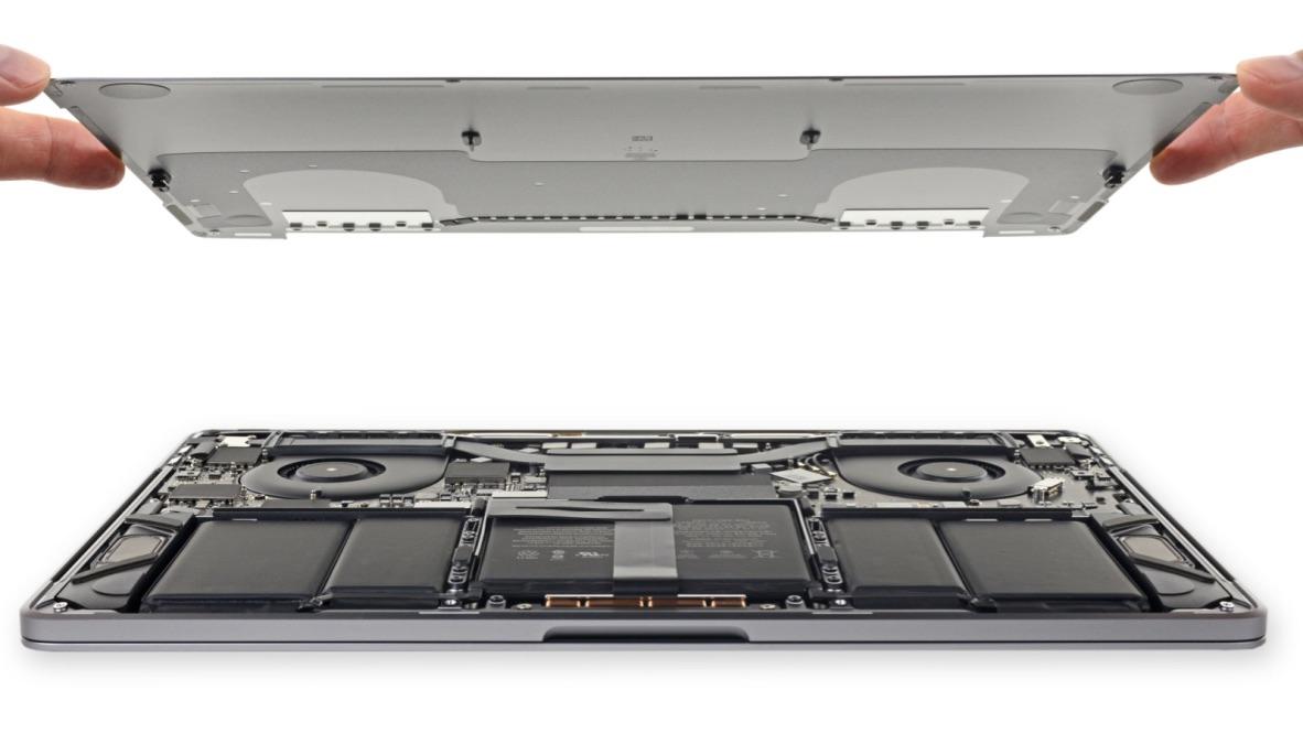 Full 2018 MacBook Pro teardown shows off bigger battery, new T2 chip, more
