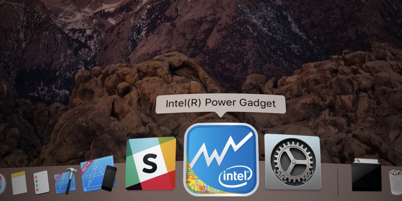 Intel Power Gadget utility download link removed amidst 2018 MacBook