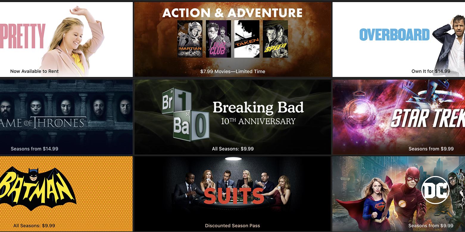 This week's best iTunes deals: popular TV complete seasons from $10