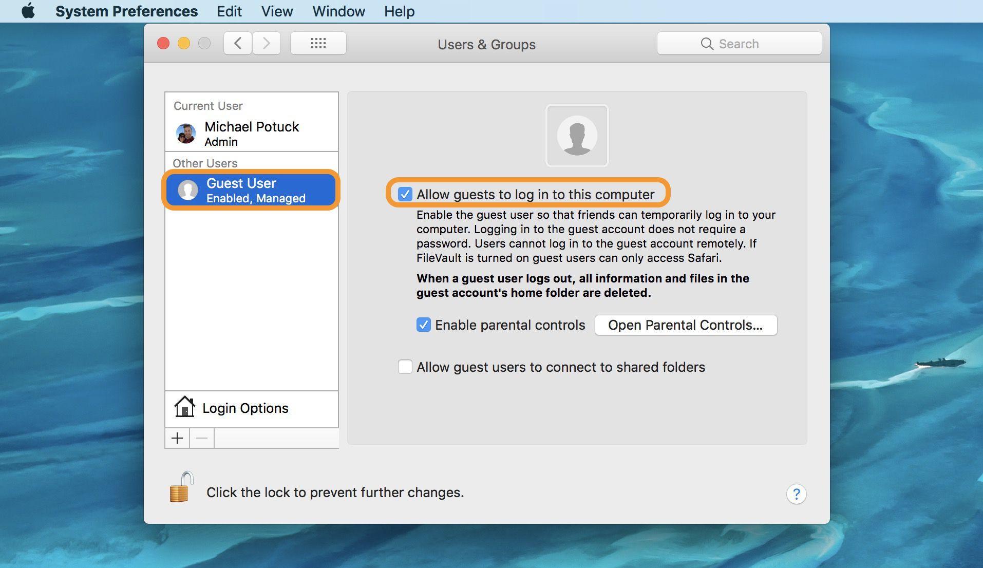how to make folder spread out on macbook