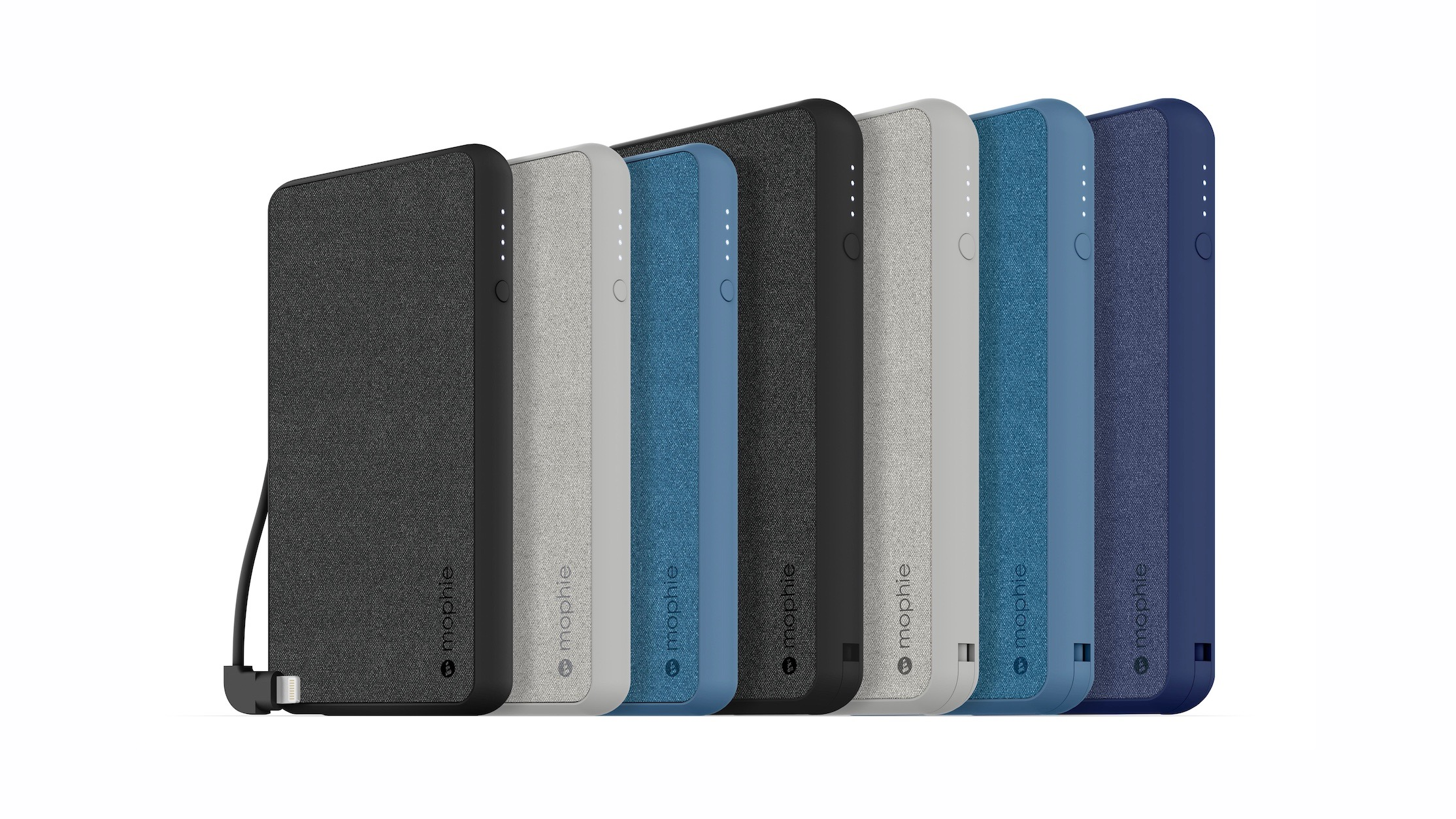 mophie expands lightning battery lineup with four new mfi power banks
