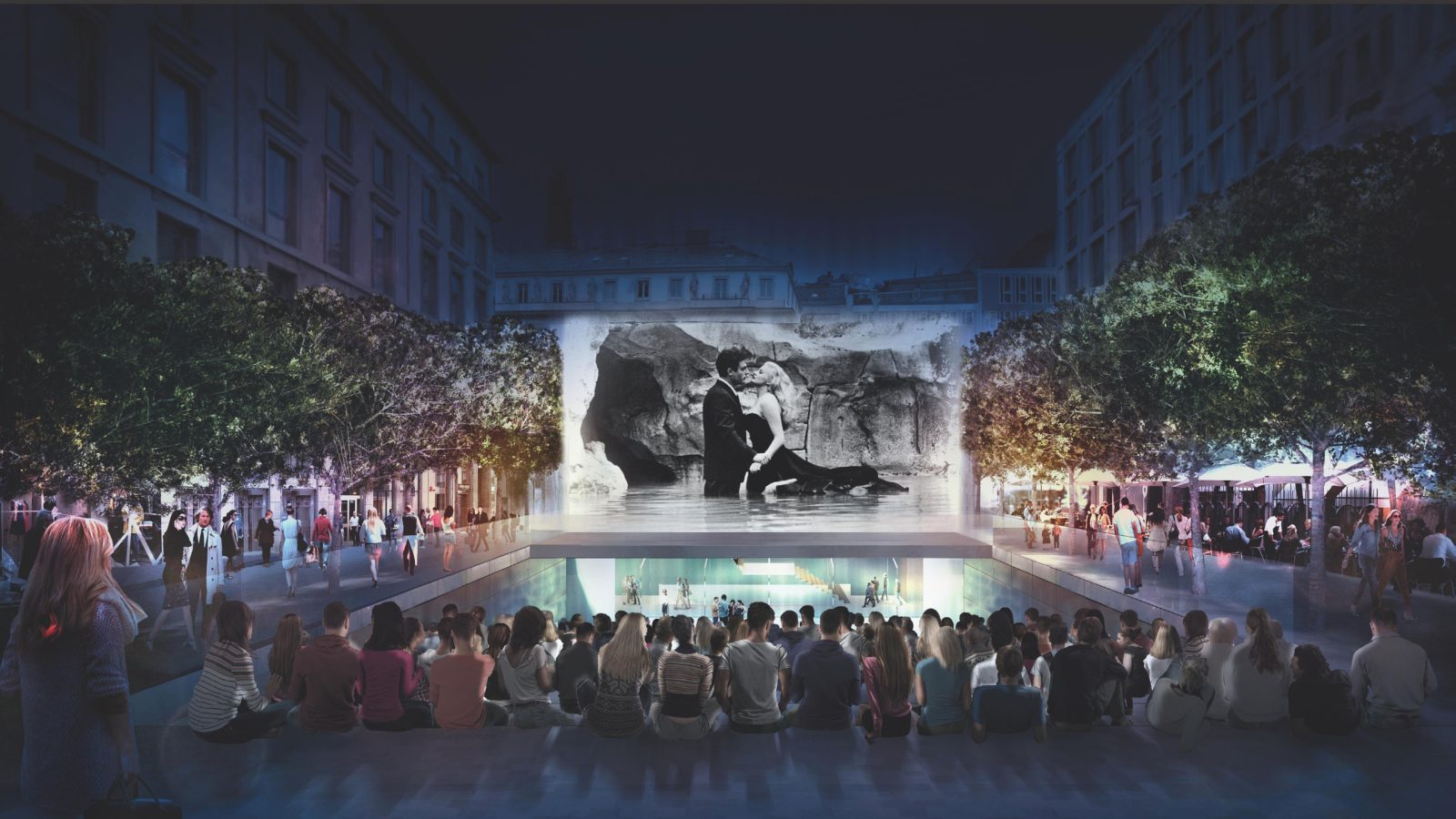 Apples New Outdoor Amphitheater And Retail Store In Milan Italy Set To Open On July 26th