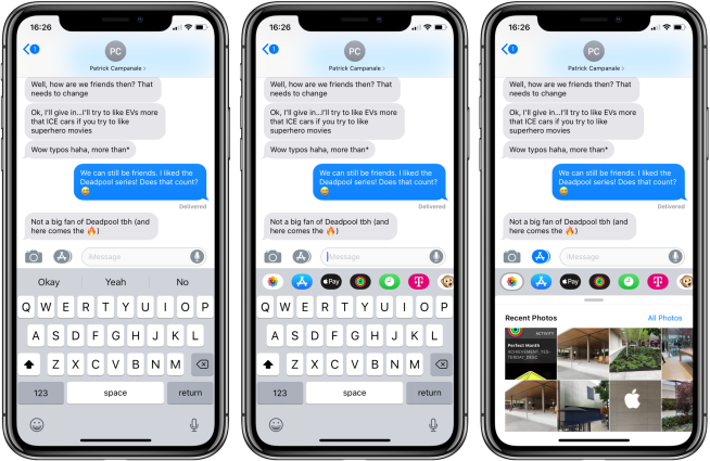 iOS 12: How to access Photos in the Messages app - 9to5Mac