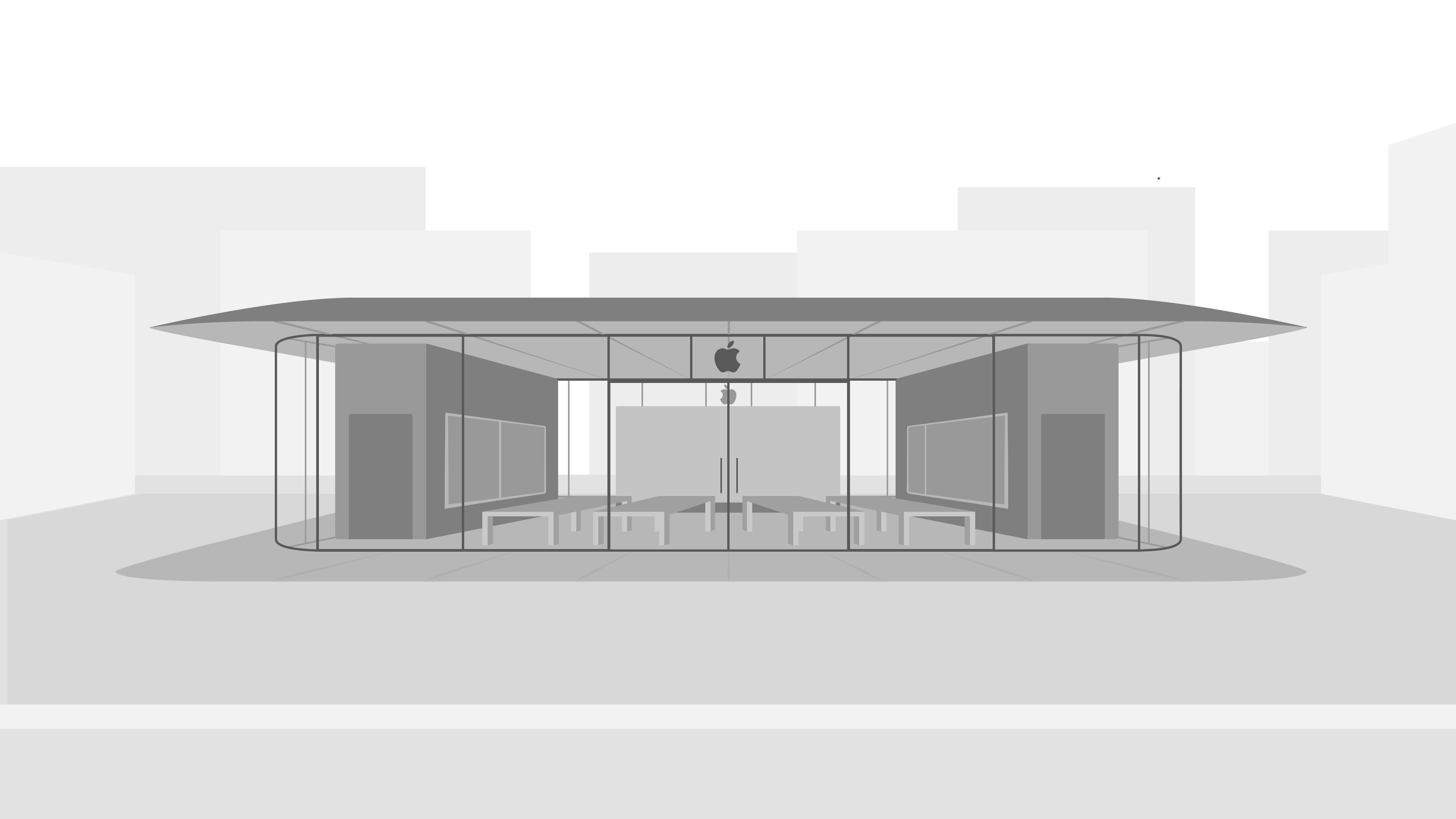 Apple's modern new store in Walnut Creek, CA set to open on July 28th