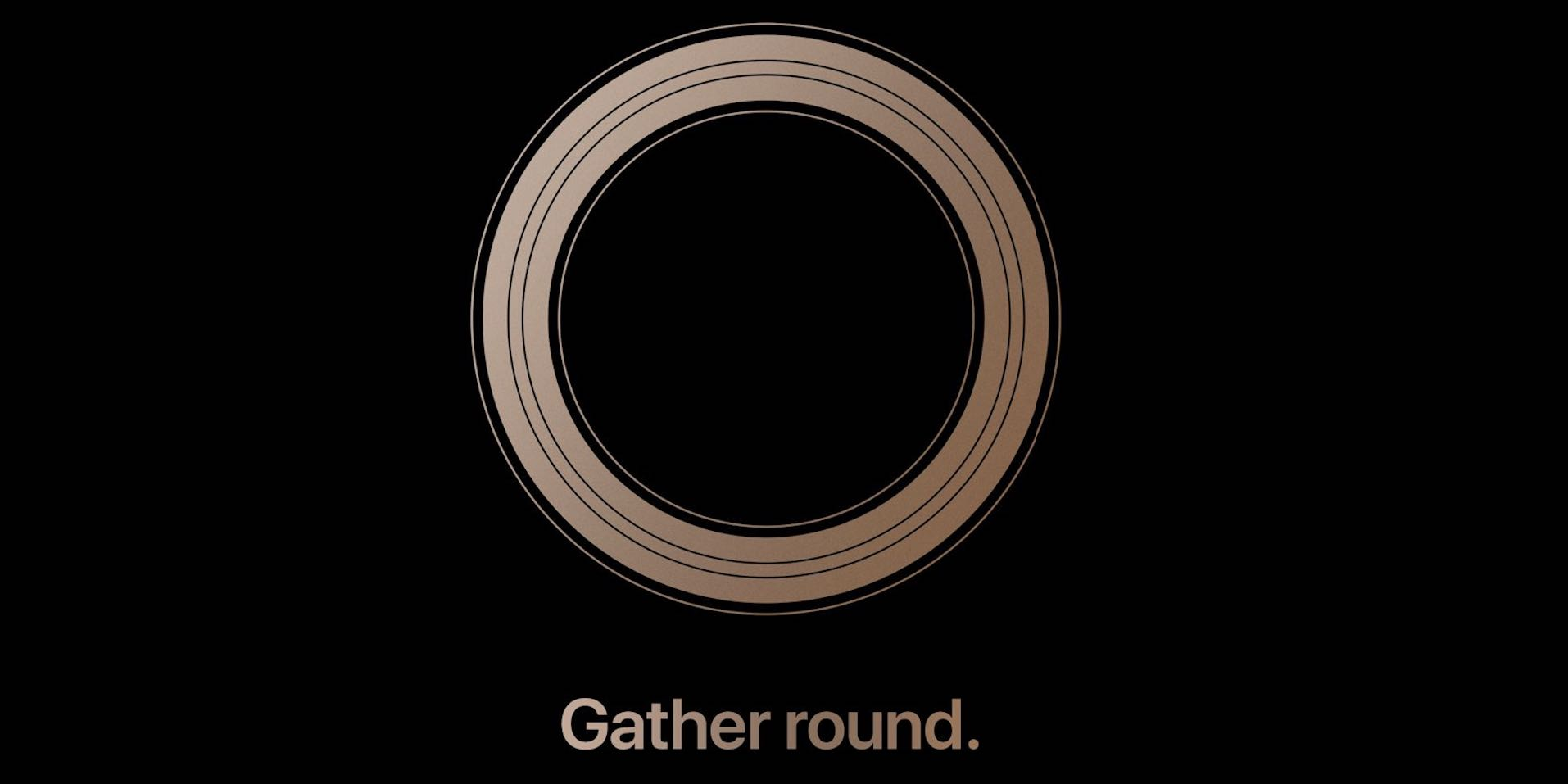 Apple announces next iPhone event for September 12: 'Gather round'