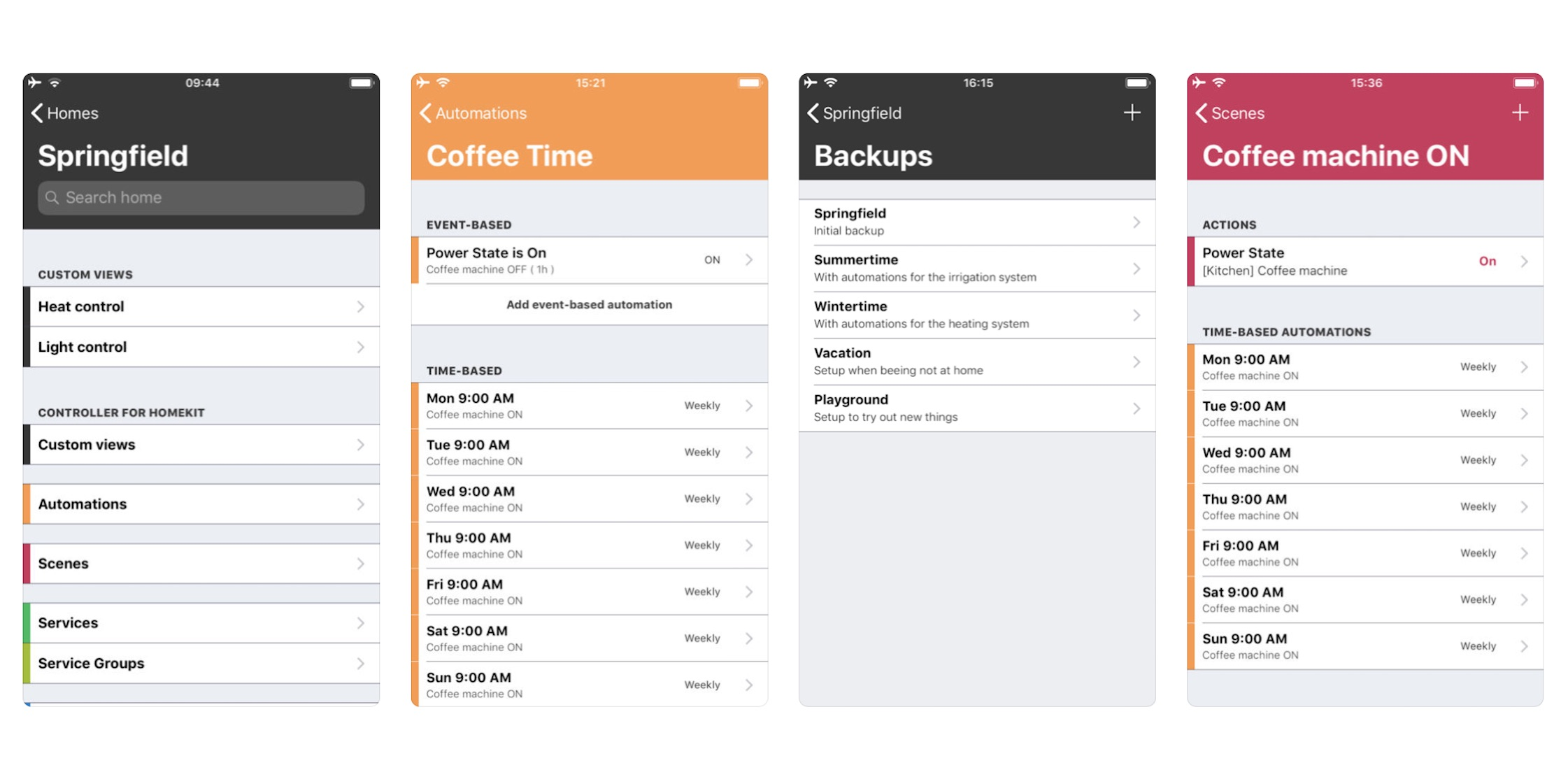 'Controller for HomeKit' app lets you back up and restore Home configurations