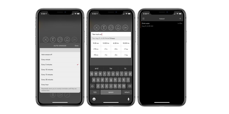 Due 3.0 brings custom reminders, a pure black theme, and haptic feedback