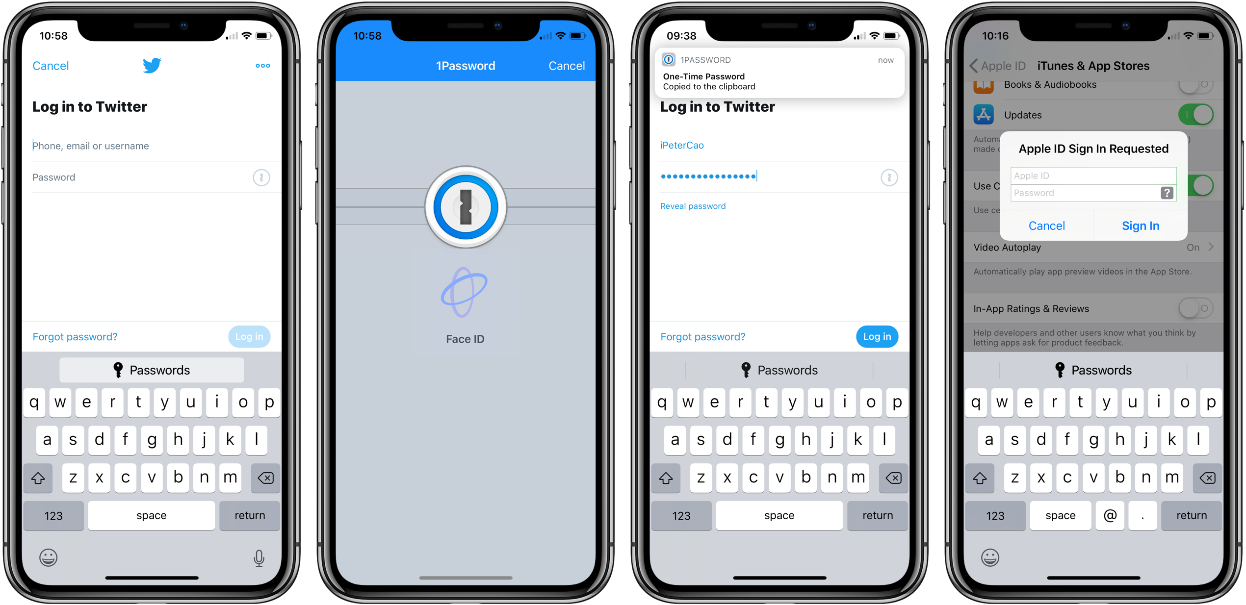 Hands-on with 1Password and iOS 12's Password AutoFill