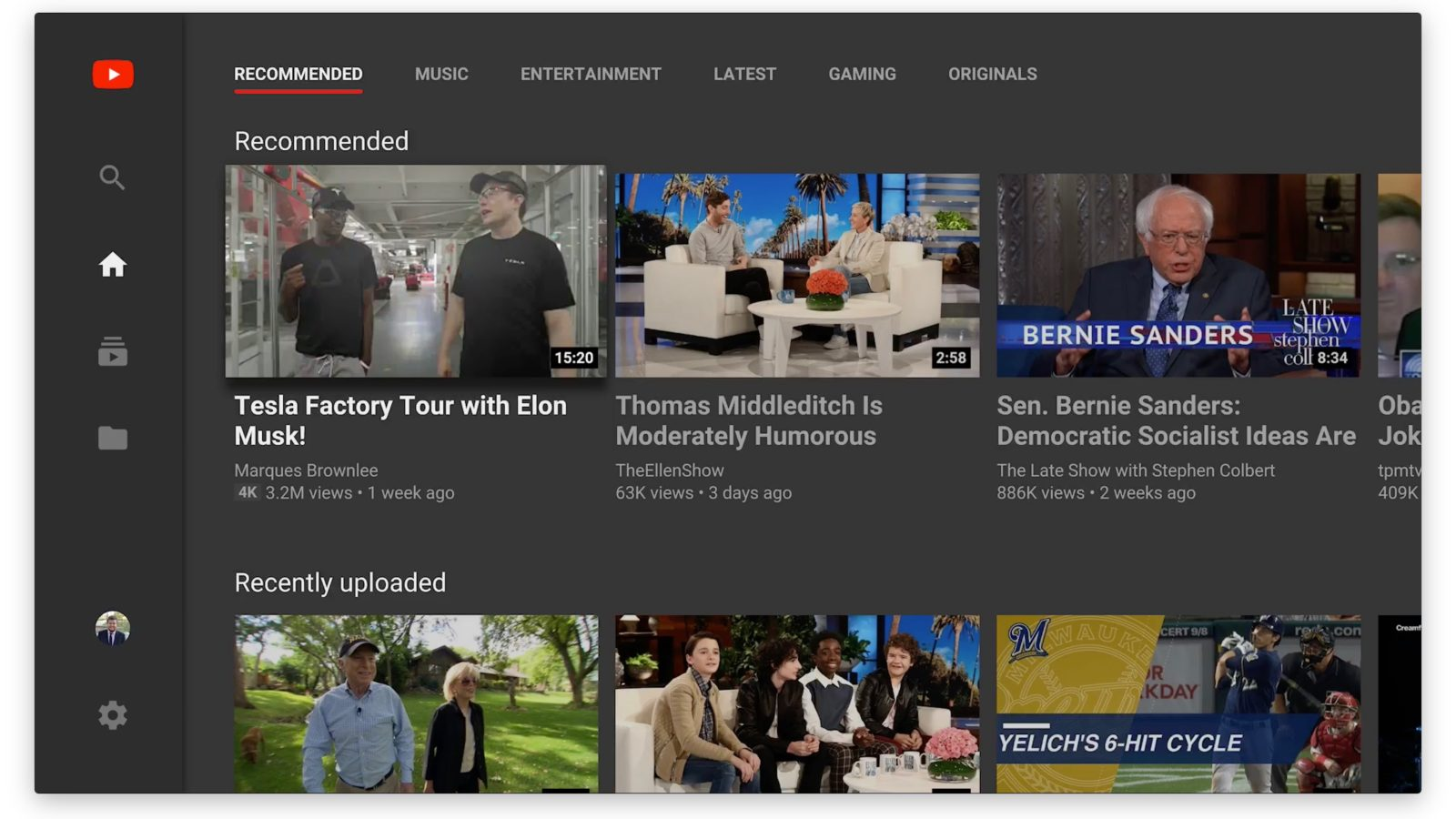 YouTube for TvOS Updated W/ Navigation and Scrubbing Improvements, More