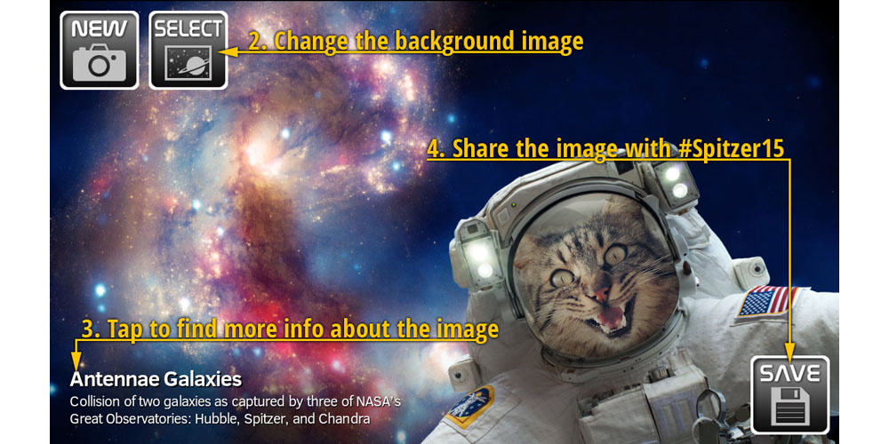 New NASA iOS app lets you take selfies in space - 9to5Mac