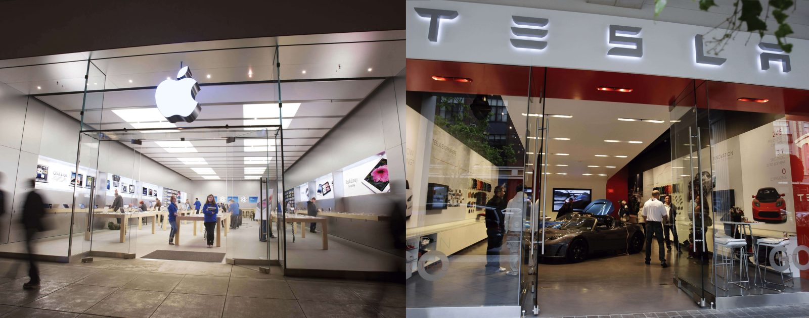 photo of Report: US malls can't rely on Apple and Tesla to increase foot traffic image