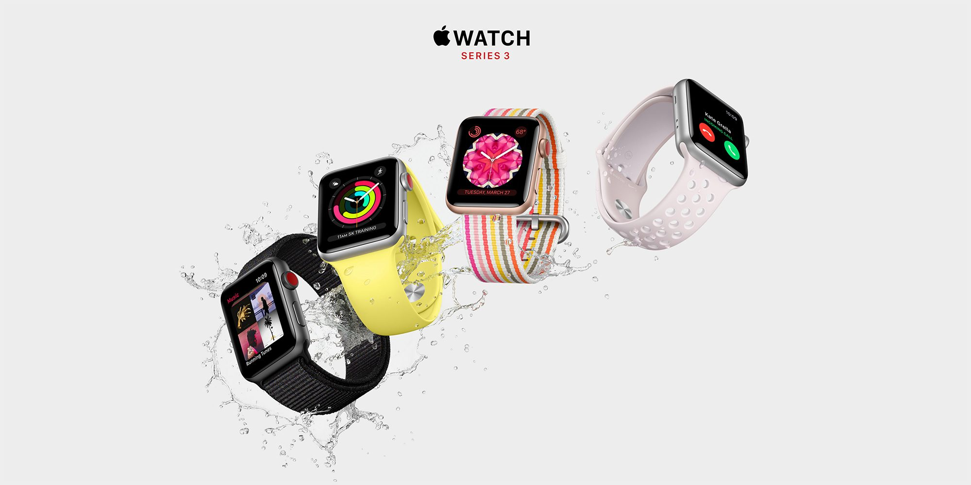 Apple Watch Series 3 LTE models discounted by 20% at Best Buy, today only (Cert. Refurb)