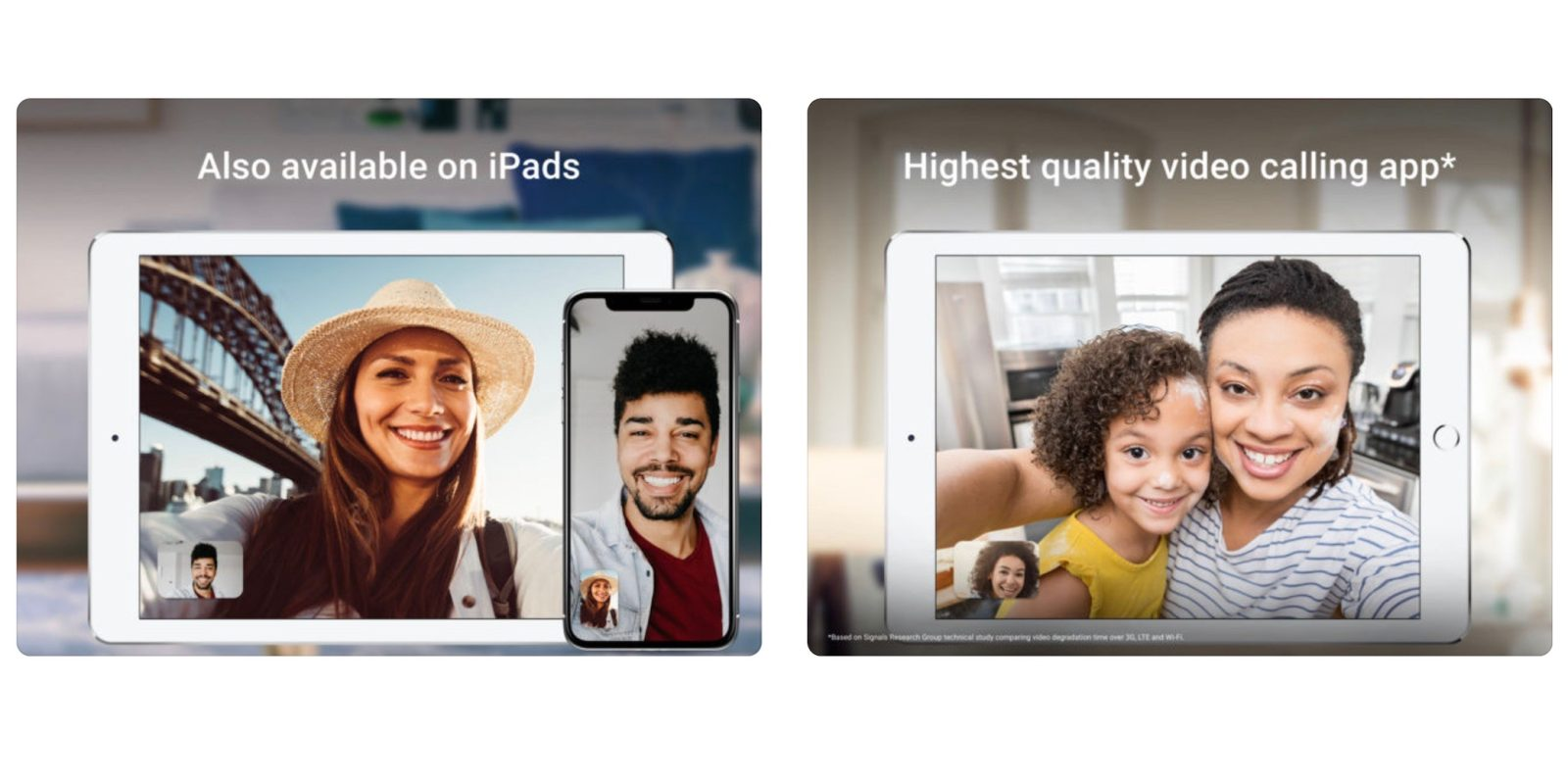 Google adds iPad support to its video calling FaceTime