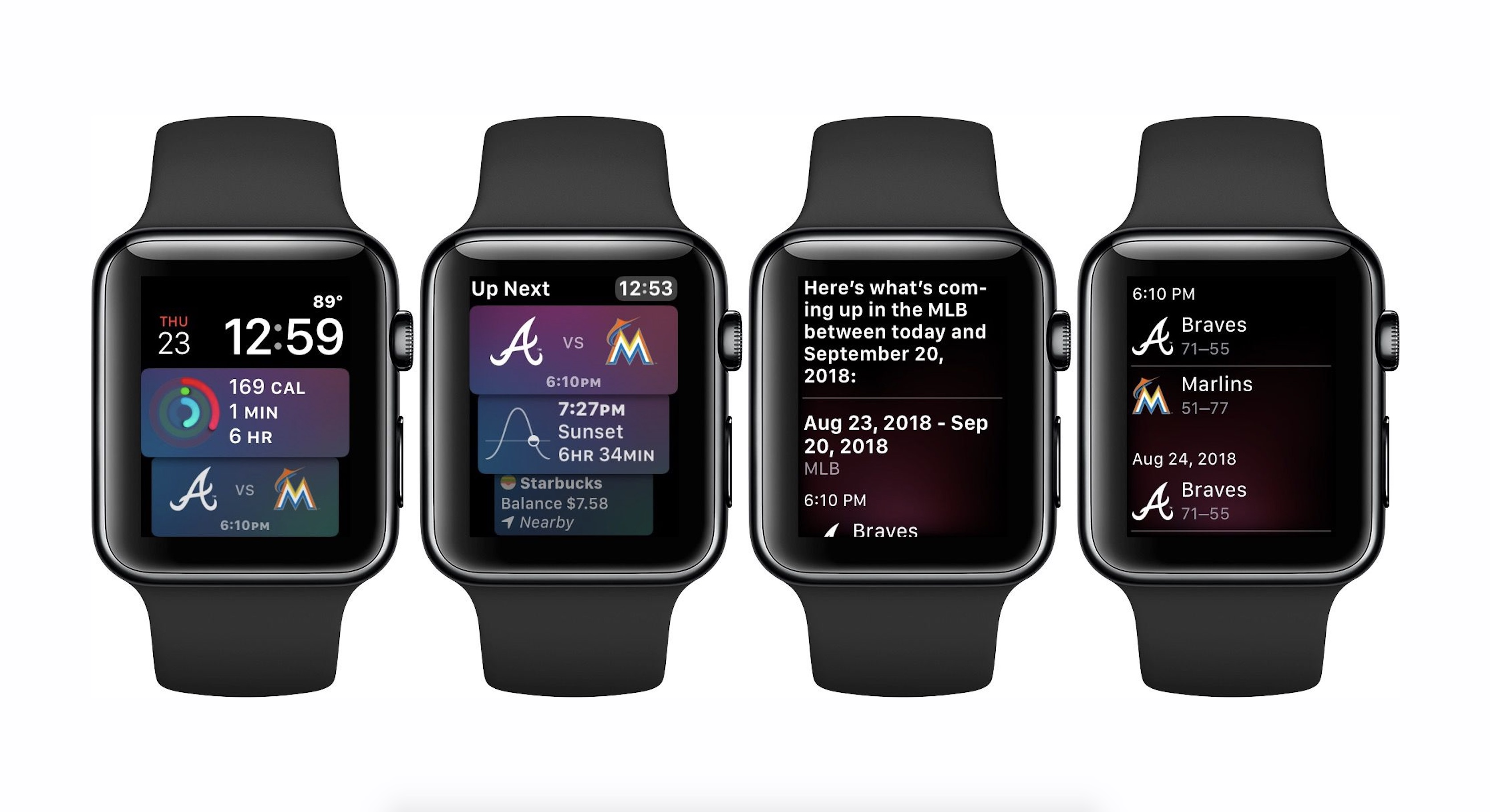 watchOS 5: How to add sports updates to the Siri watch face