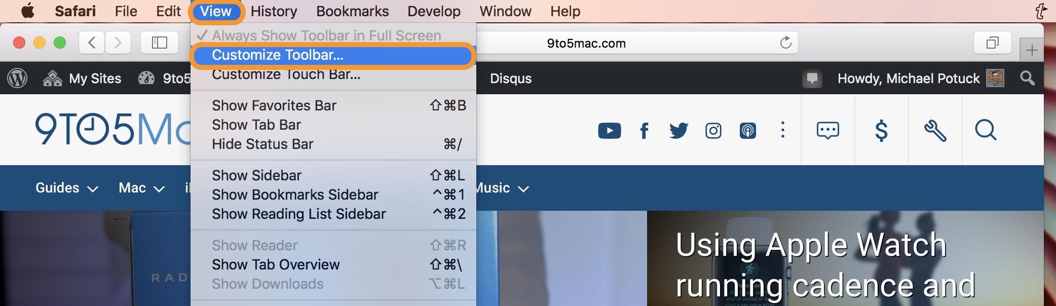 Mac: How to customize your Safari toolbar - 9to5Mac