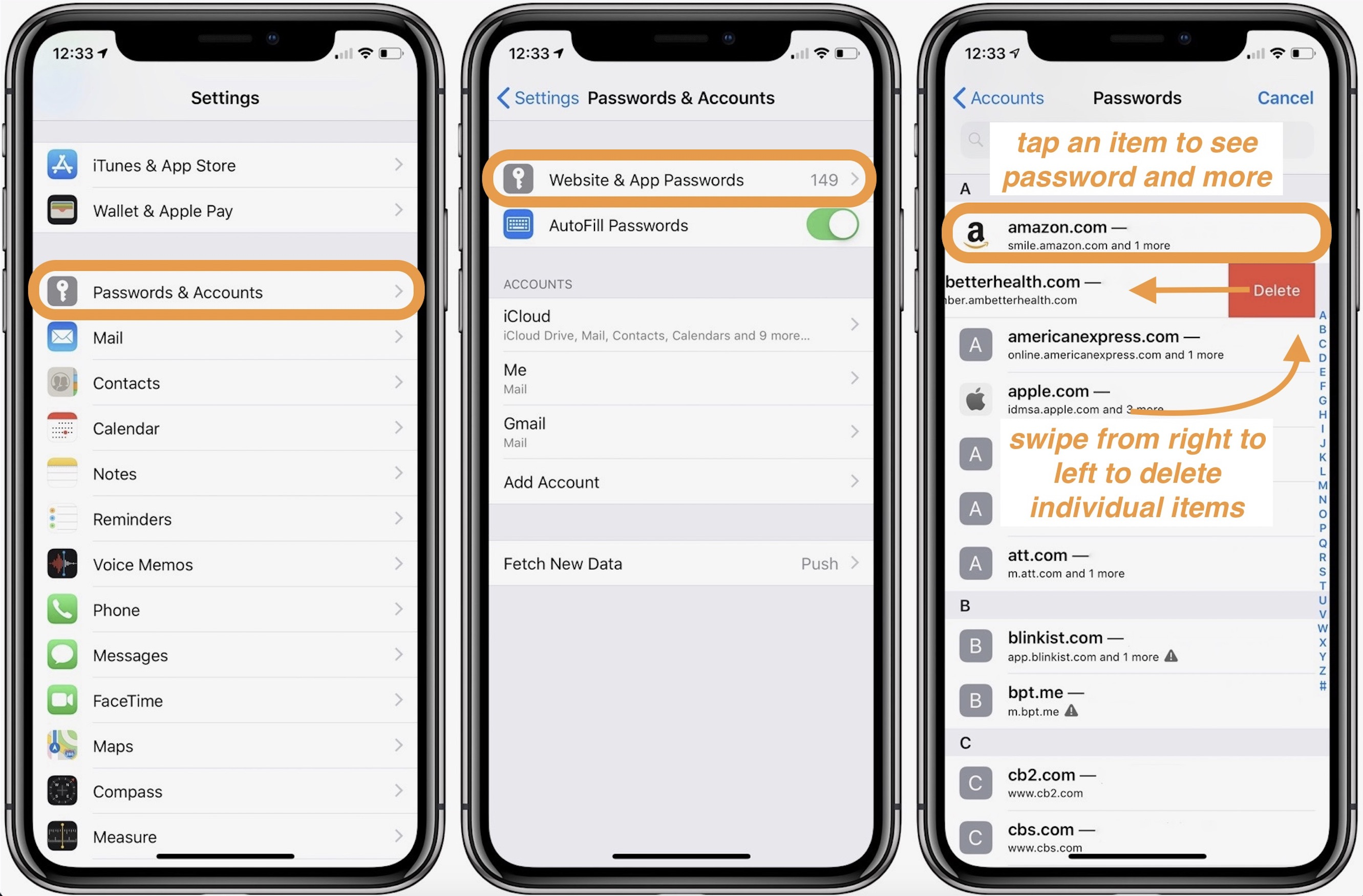 iPhone & iPad: How to view and edit passwords saved with