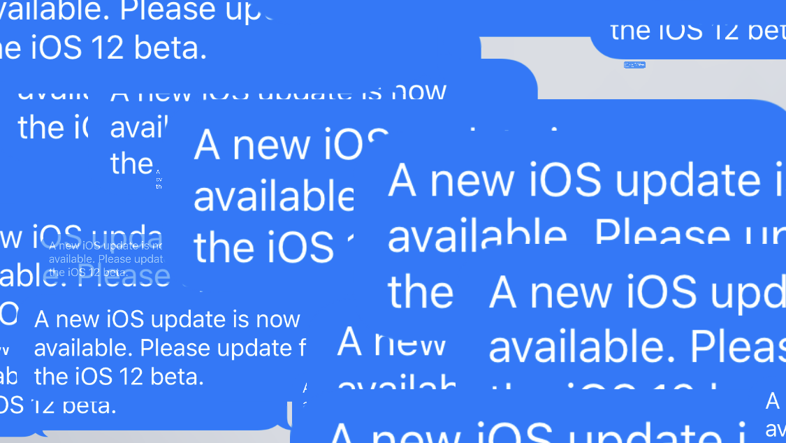 Apple releases iOS 12 beta 12 to fix 'new iOS update' alert