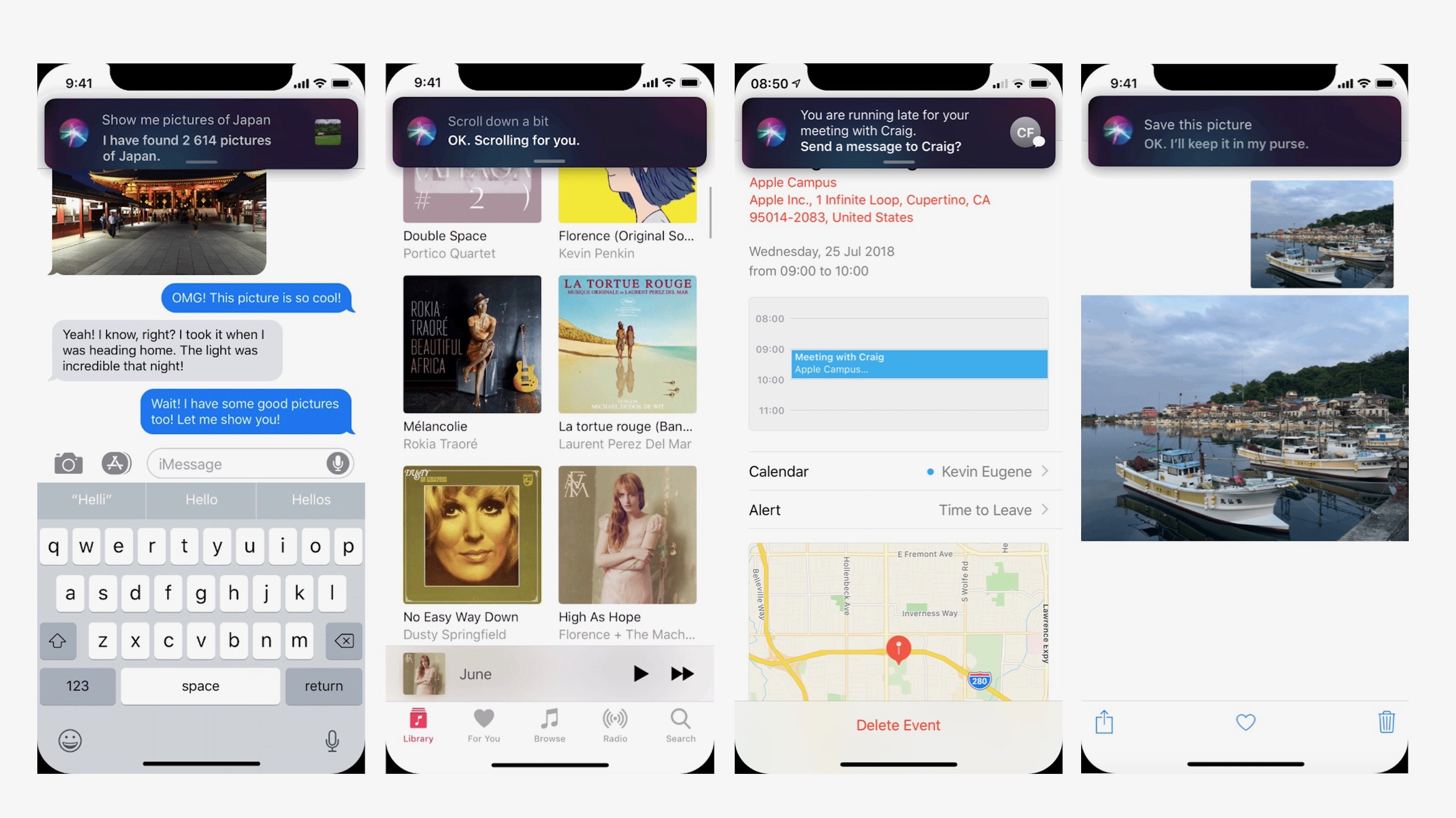 beautiful siri concept imagines parallel help ditching full screen takeover reinvents ios multitasking