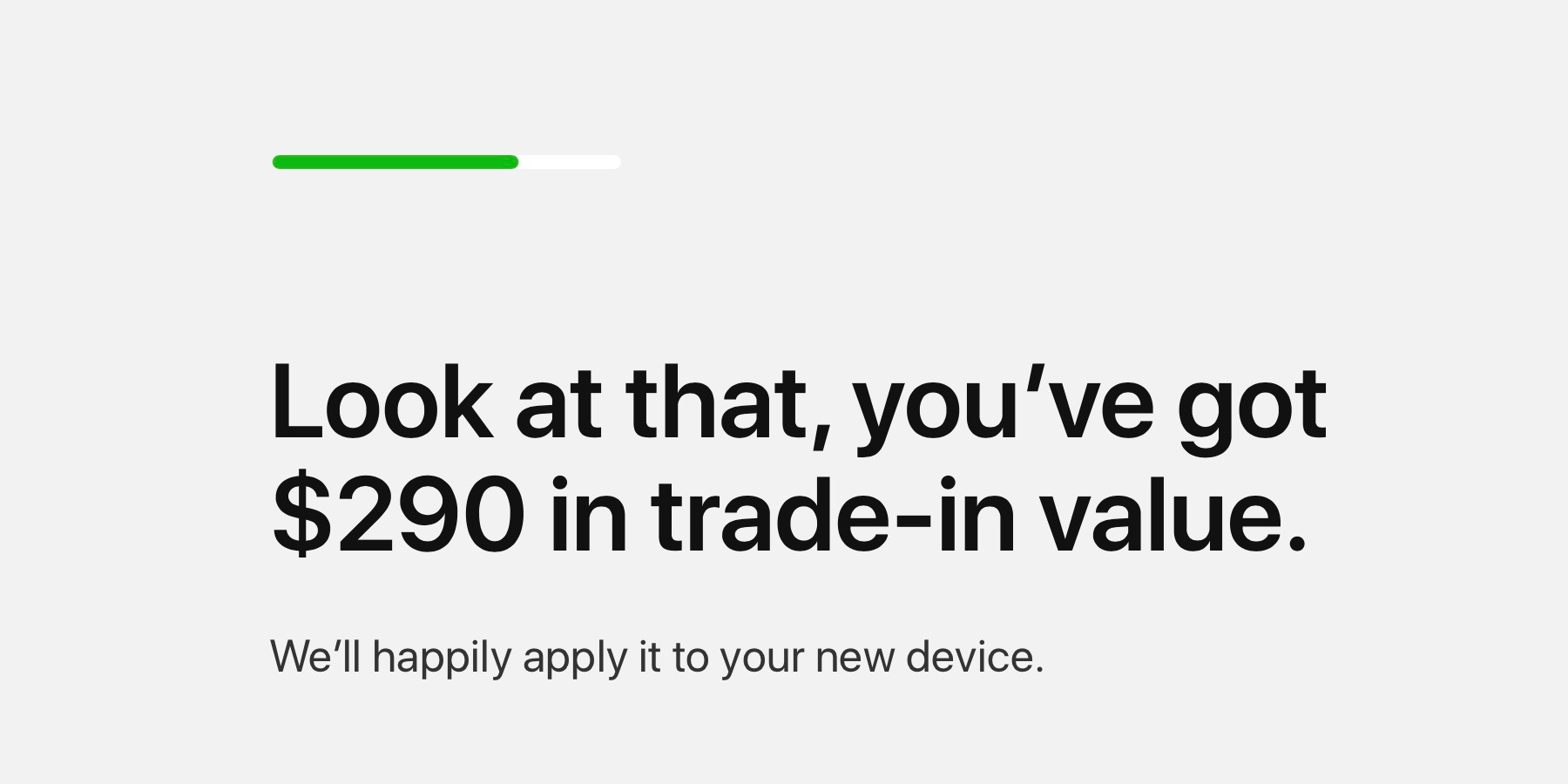 apple pushes giveback program with trade ins now worth instant credit toward new iphone ipad apple watch mac