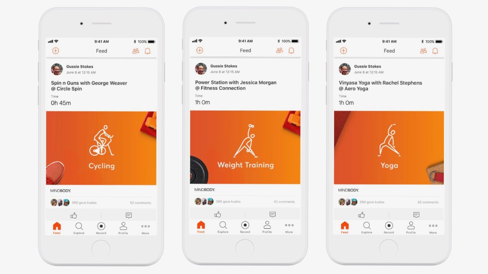 Strava and MINDBODY team up to integrate fitness class