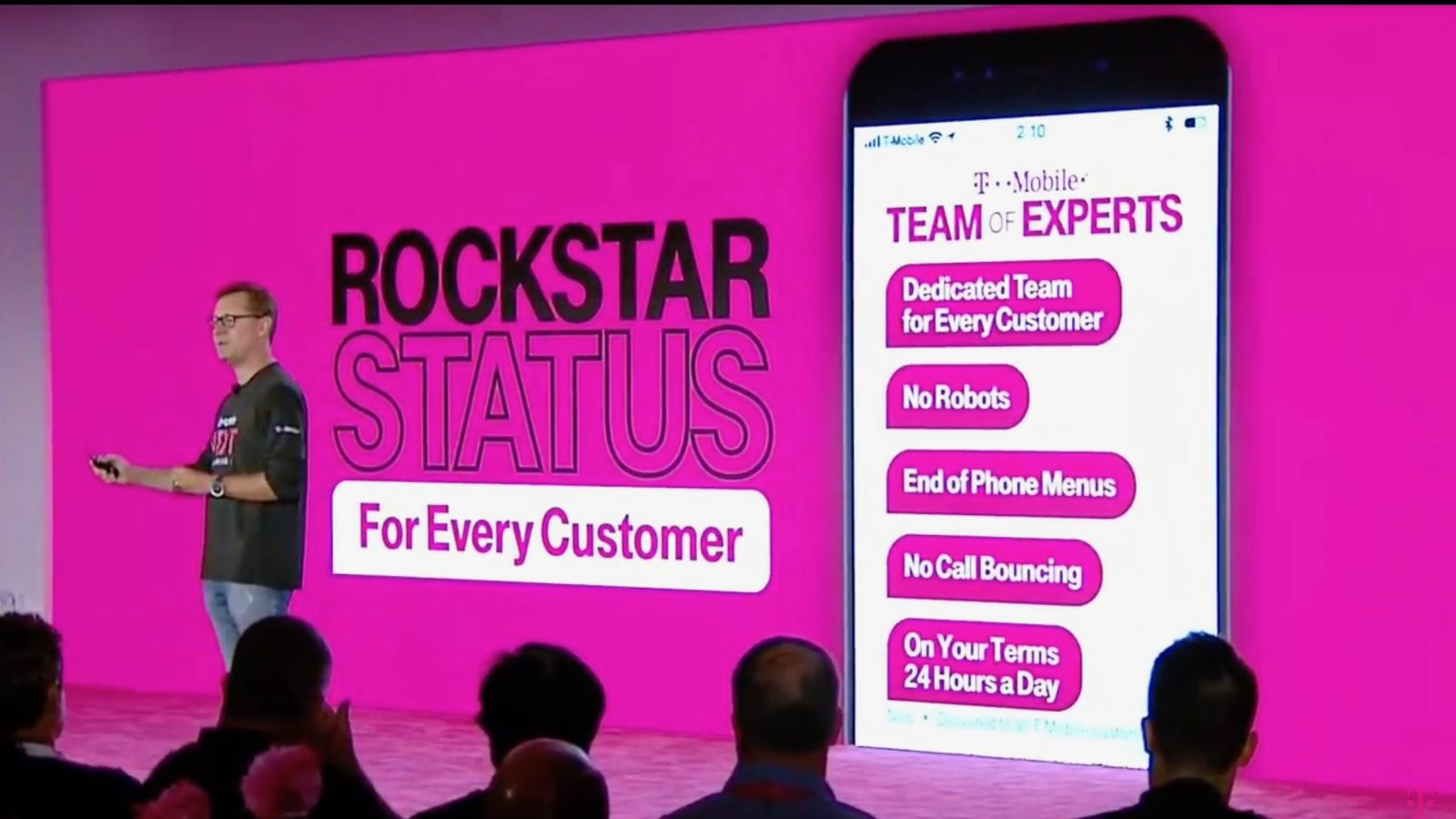 T-Mobile customer service ditches robots and call transfers