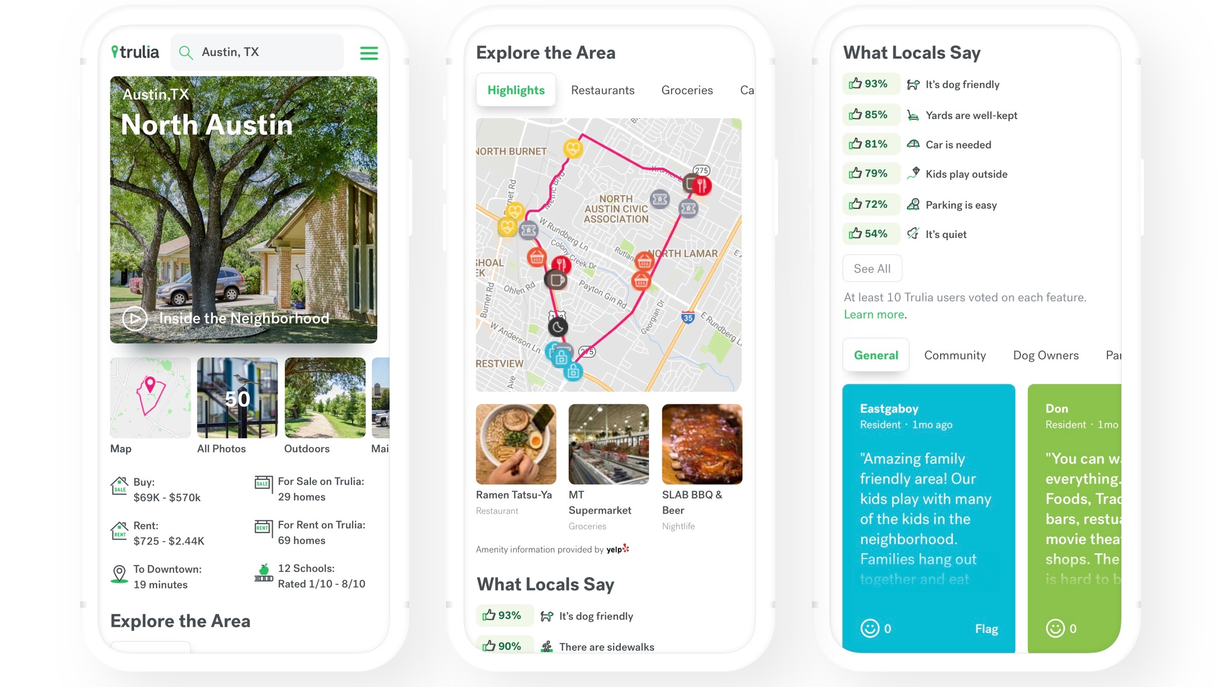 home discovery app launches trulia neighborhoods to give local insight and more to prospective house buyers