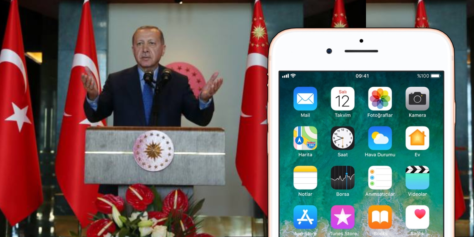 turkish president calls for iphone boycott amidst breakdown of turkey us relations