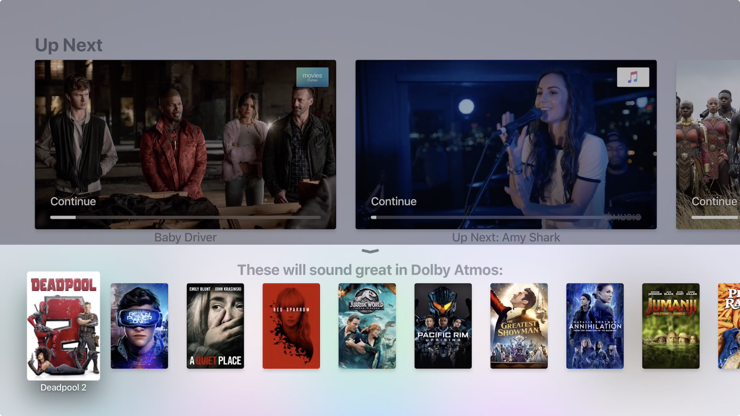 tvos 12 now available for apple tv 4 and apple tv 4k brings dolby atmos audio screensaver updates more