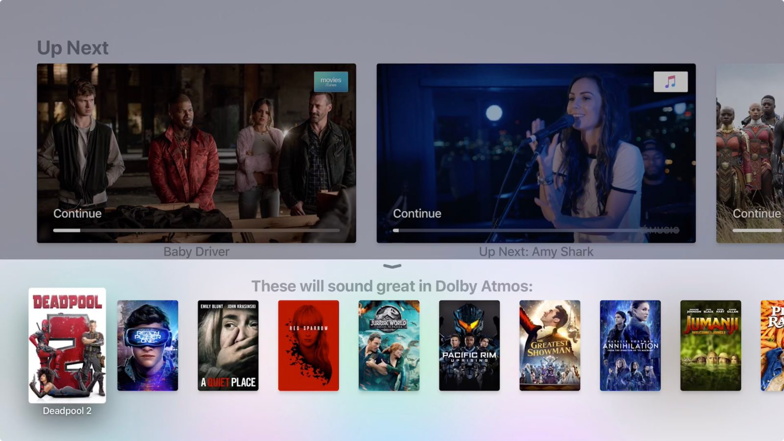 tvOS 12 now available for Apple TV 4 and Apple TV 4K, brings Dolby