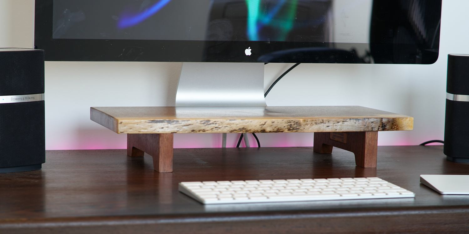 Review: Understands, a beautifully neat way to raise an iMac or Apple monitor, with two issues